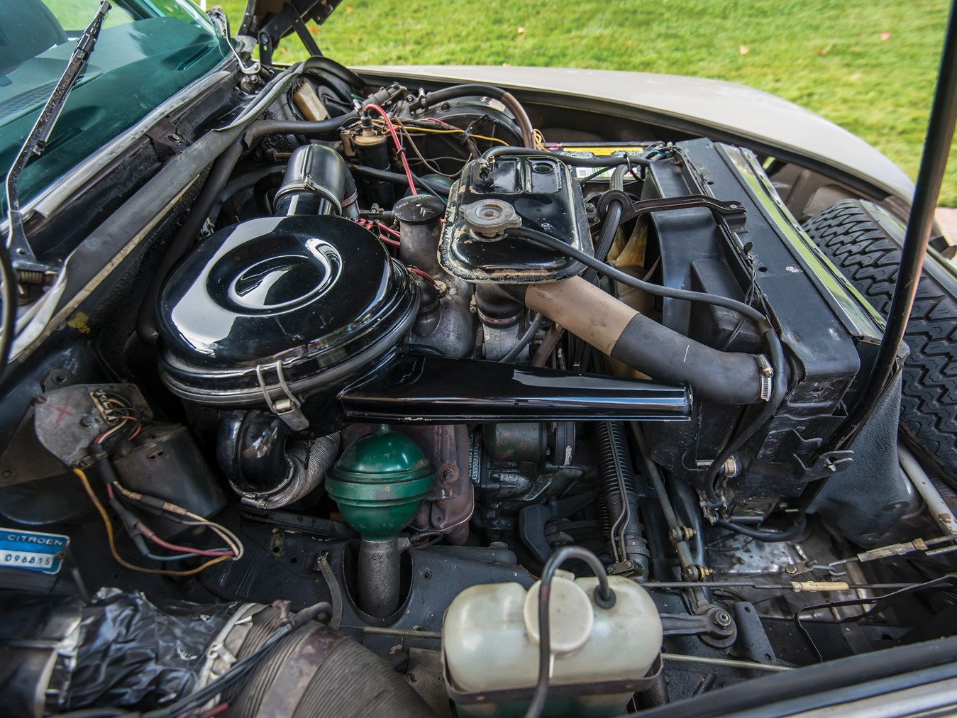 1973 Citroën DS 23 Pallas engine