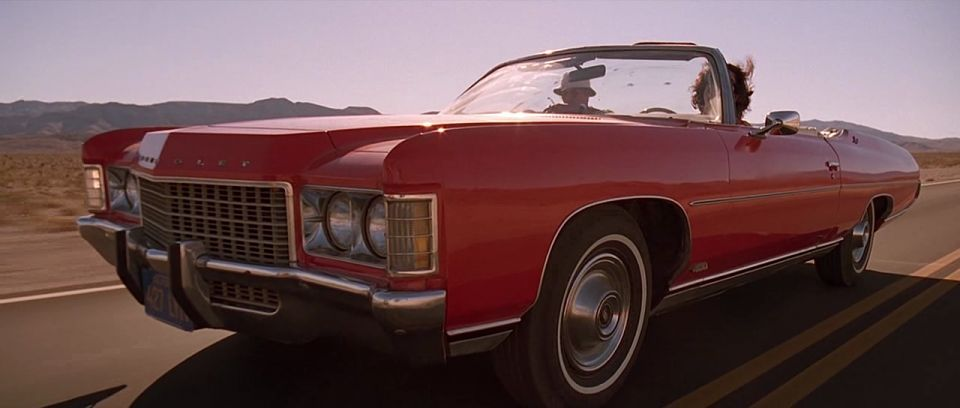 1971 Chevrolet Impala convertible in Fear and Loathing in Las Vegas