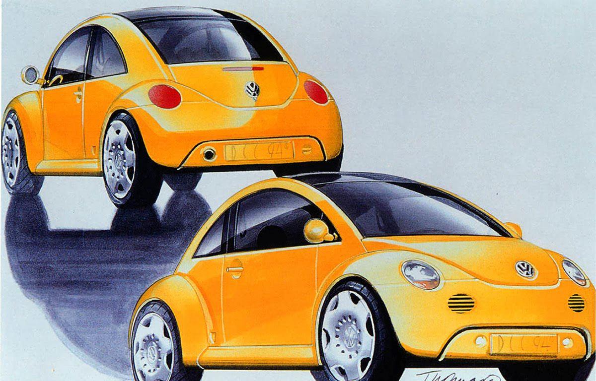 1994 Volkswagen Concept 1 drawings