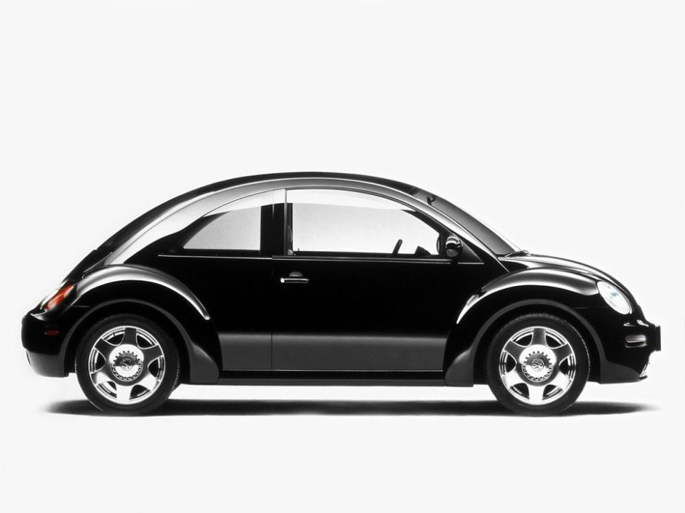 black Volkswagen Concept 1 profile