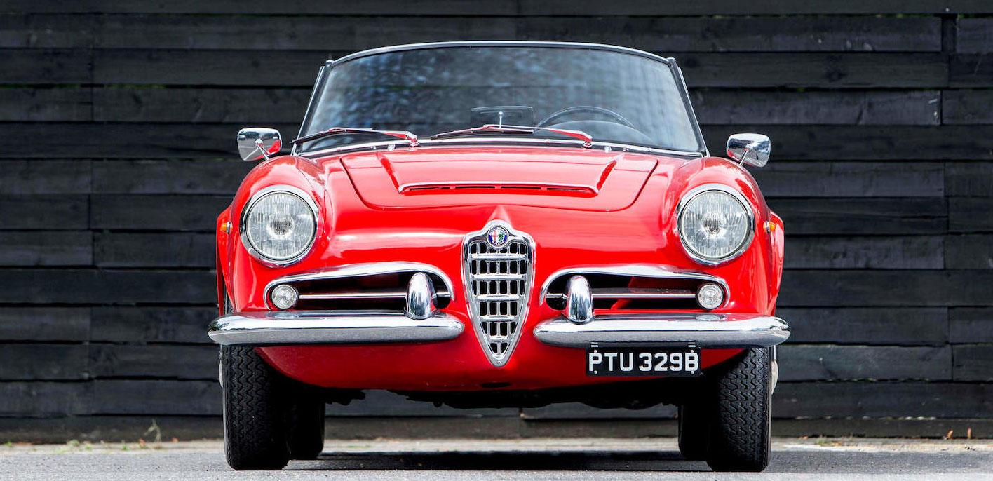 1964 Alfa Romeo Giulia 1600 Spider Veloce