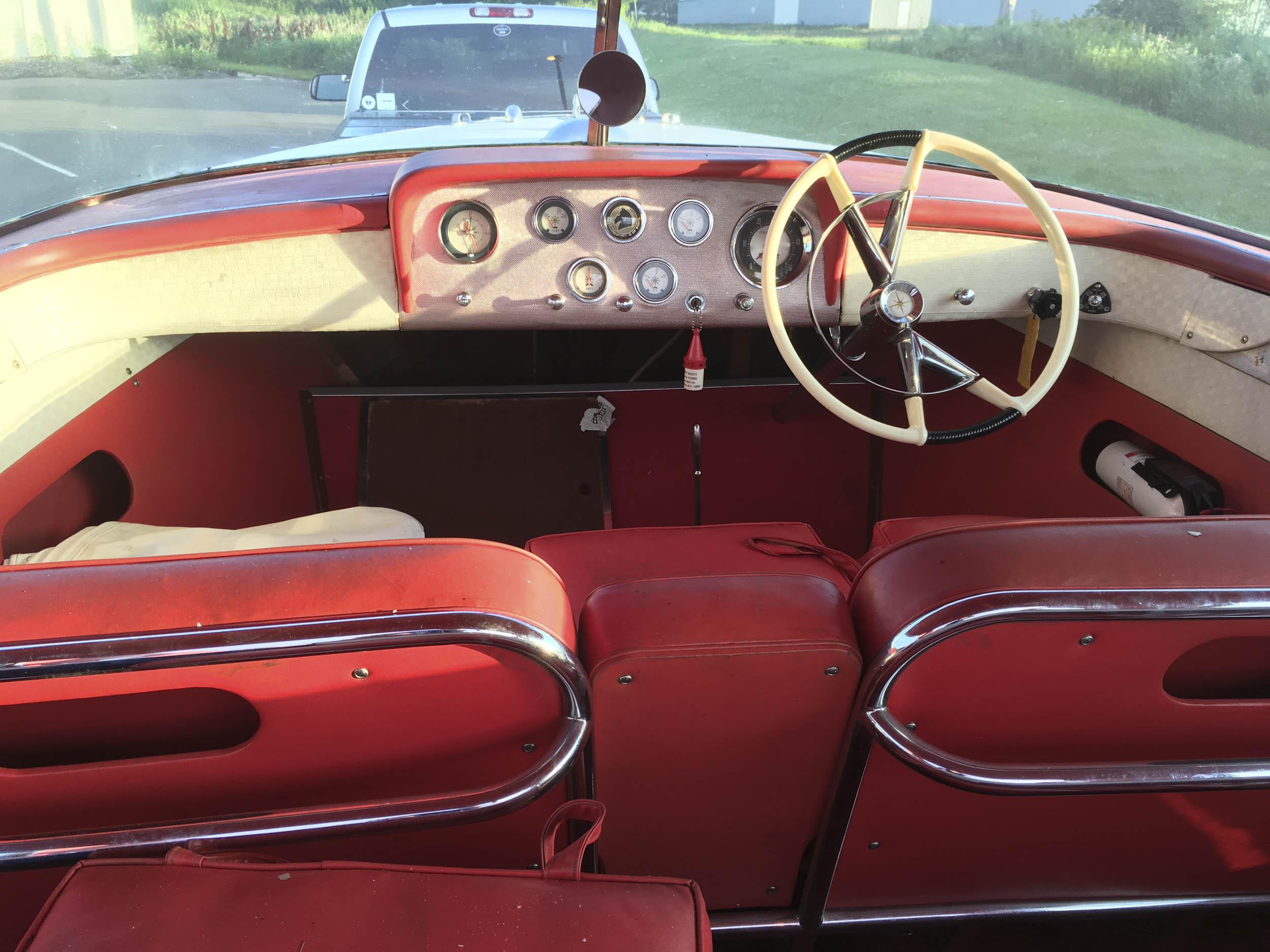 Automotive inspired interior