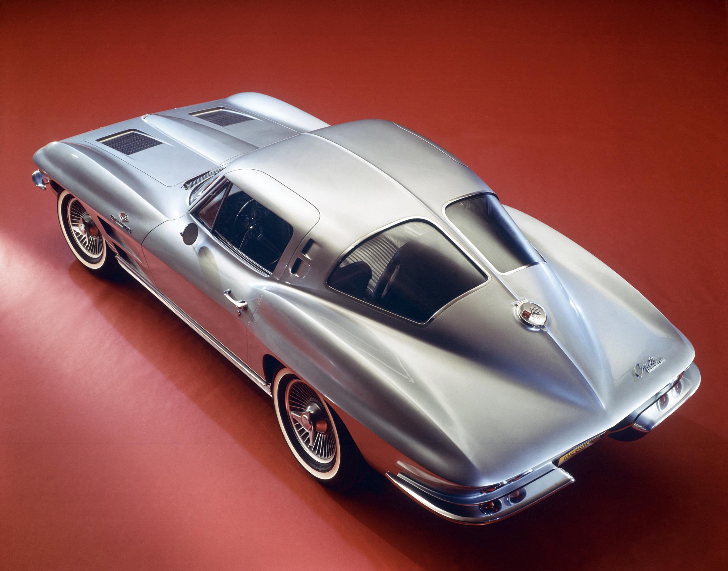 1963 Chevrolet Corvette overhead