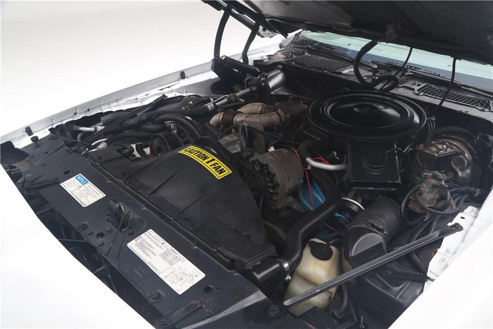 1980 Pontiac Trans Am Indy Pace Car engine