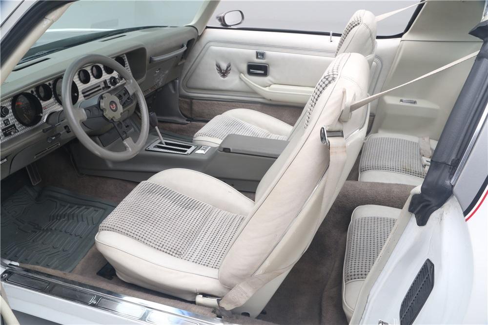 1980 Pontiac Trans Am interior