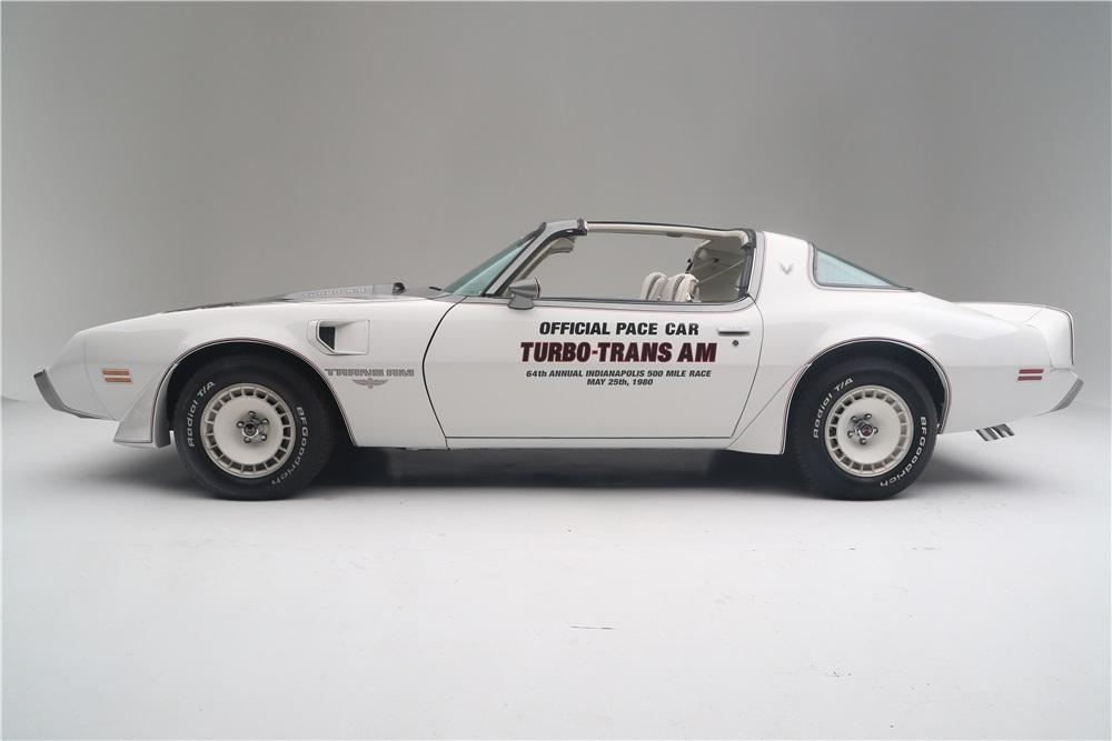 1980 Pontiac Trans Am Indy Pace Car profile