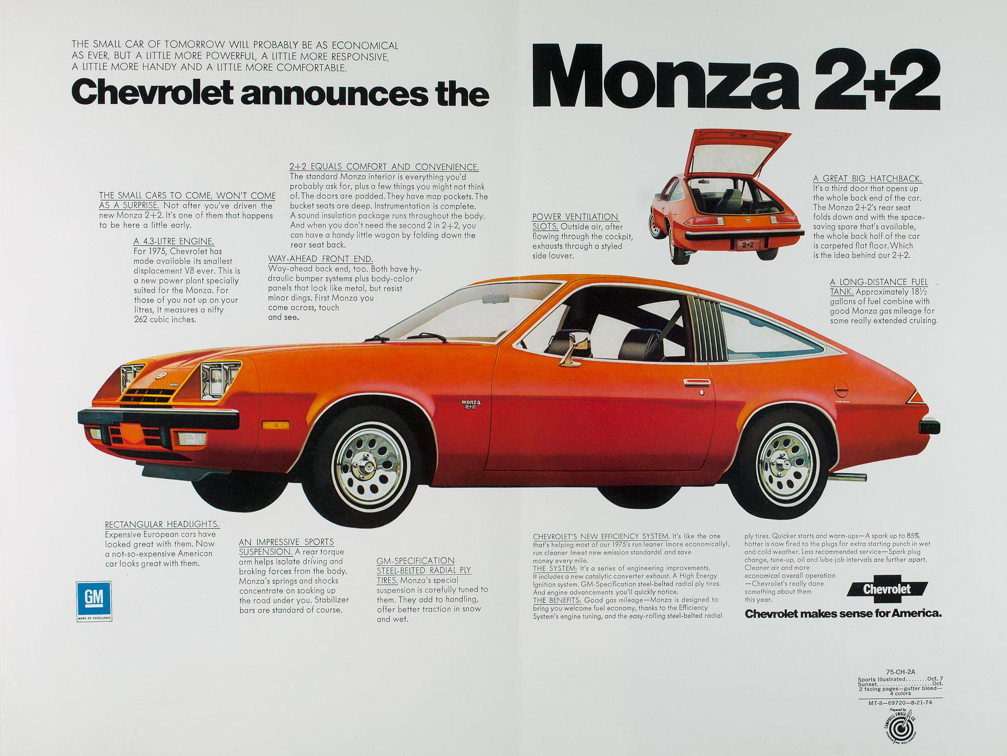 Monza 2+2 ad
