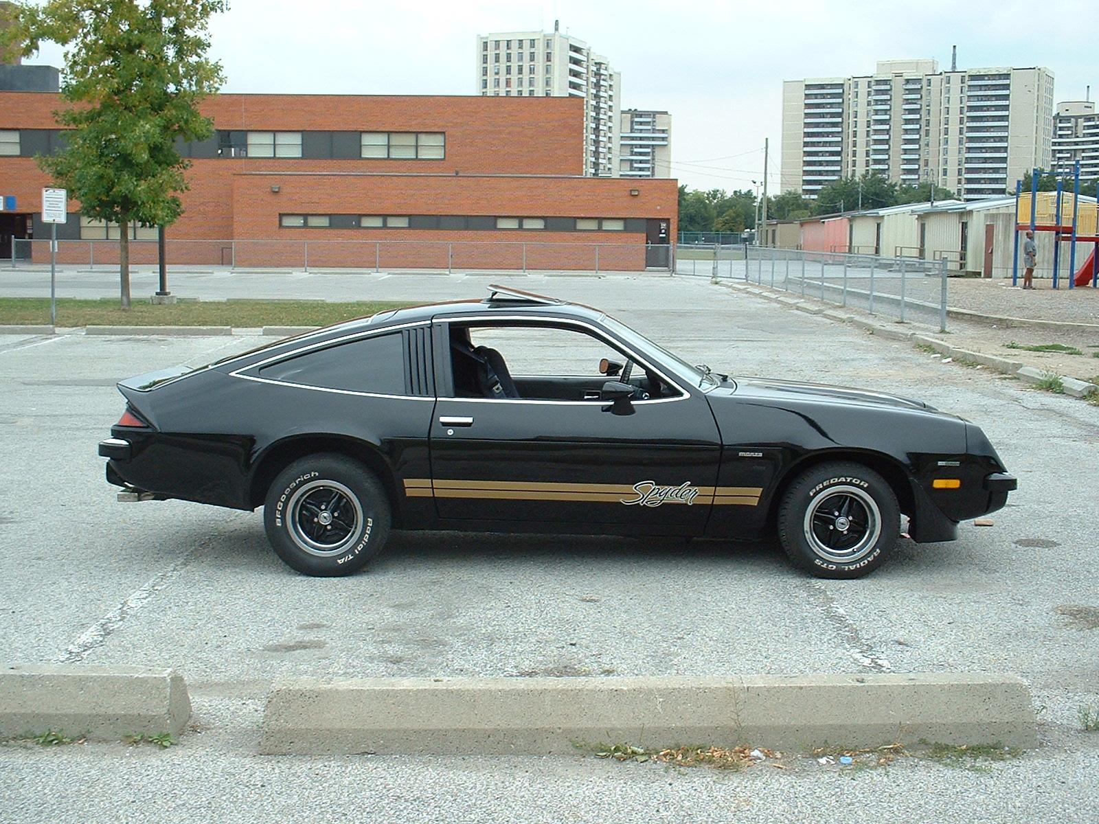 Chevy Monza profile
