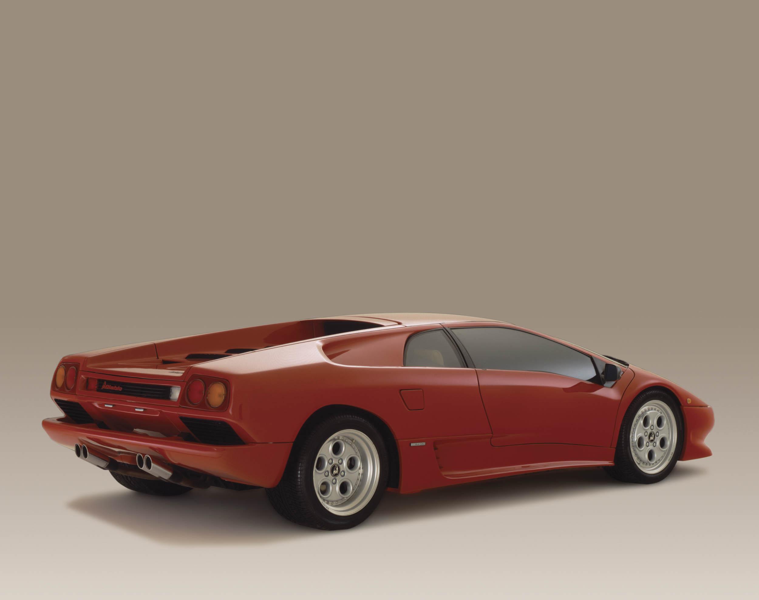 Lamborghini Diablo rear 3/4