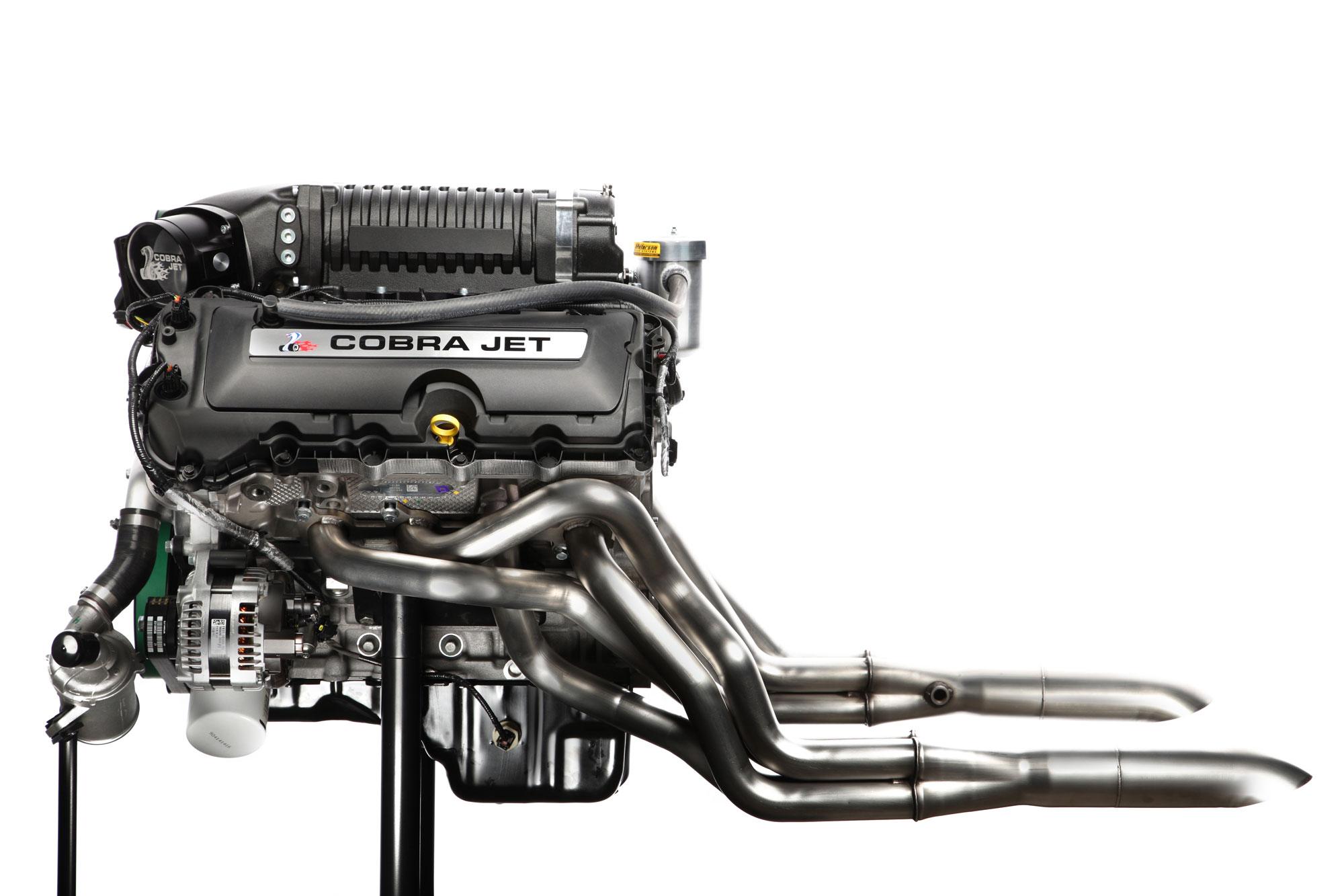Ford Cobra Jet engine profile