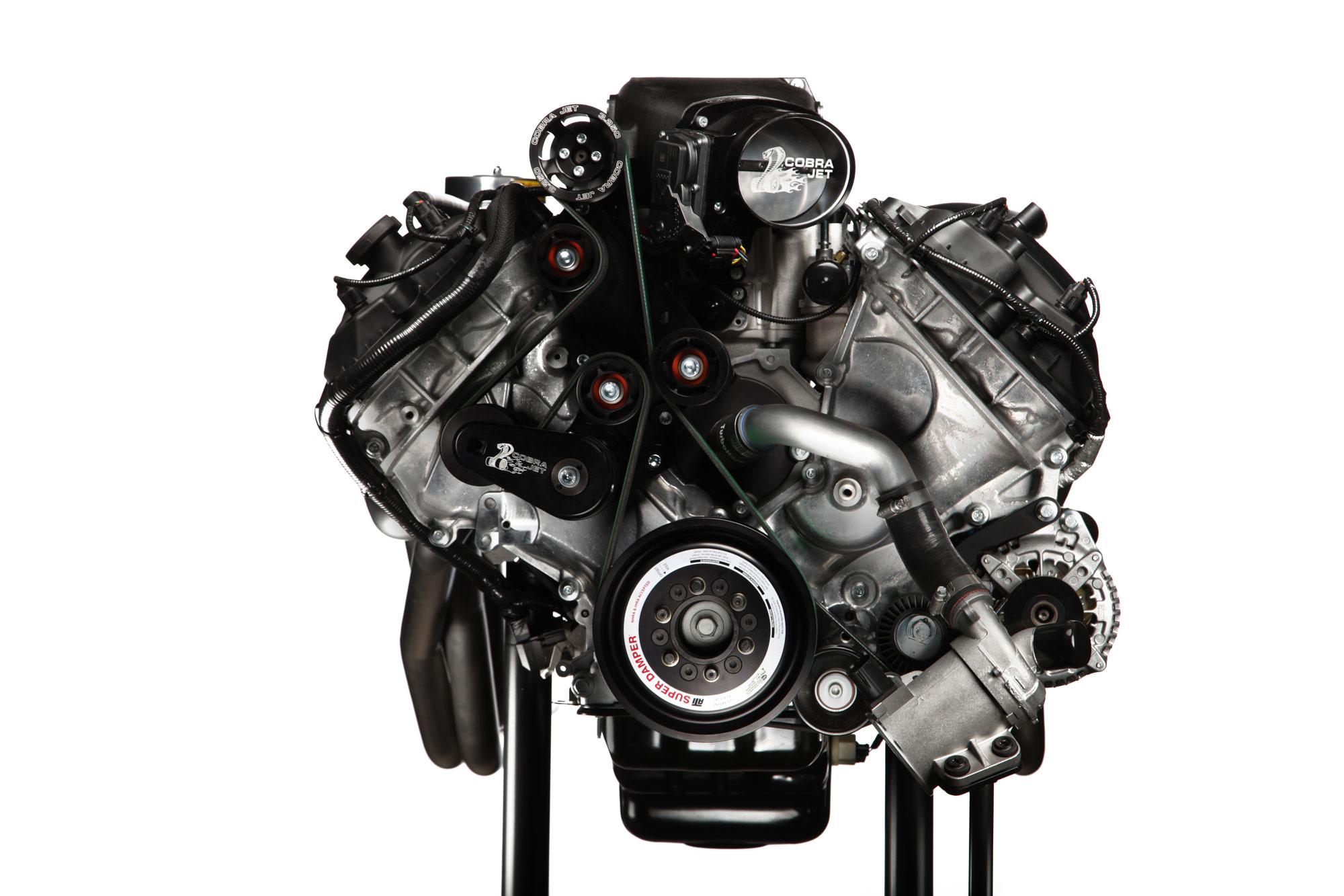 Ford Cobra Jet engine front