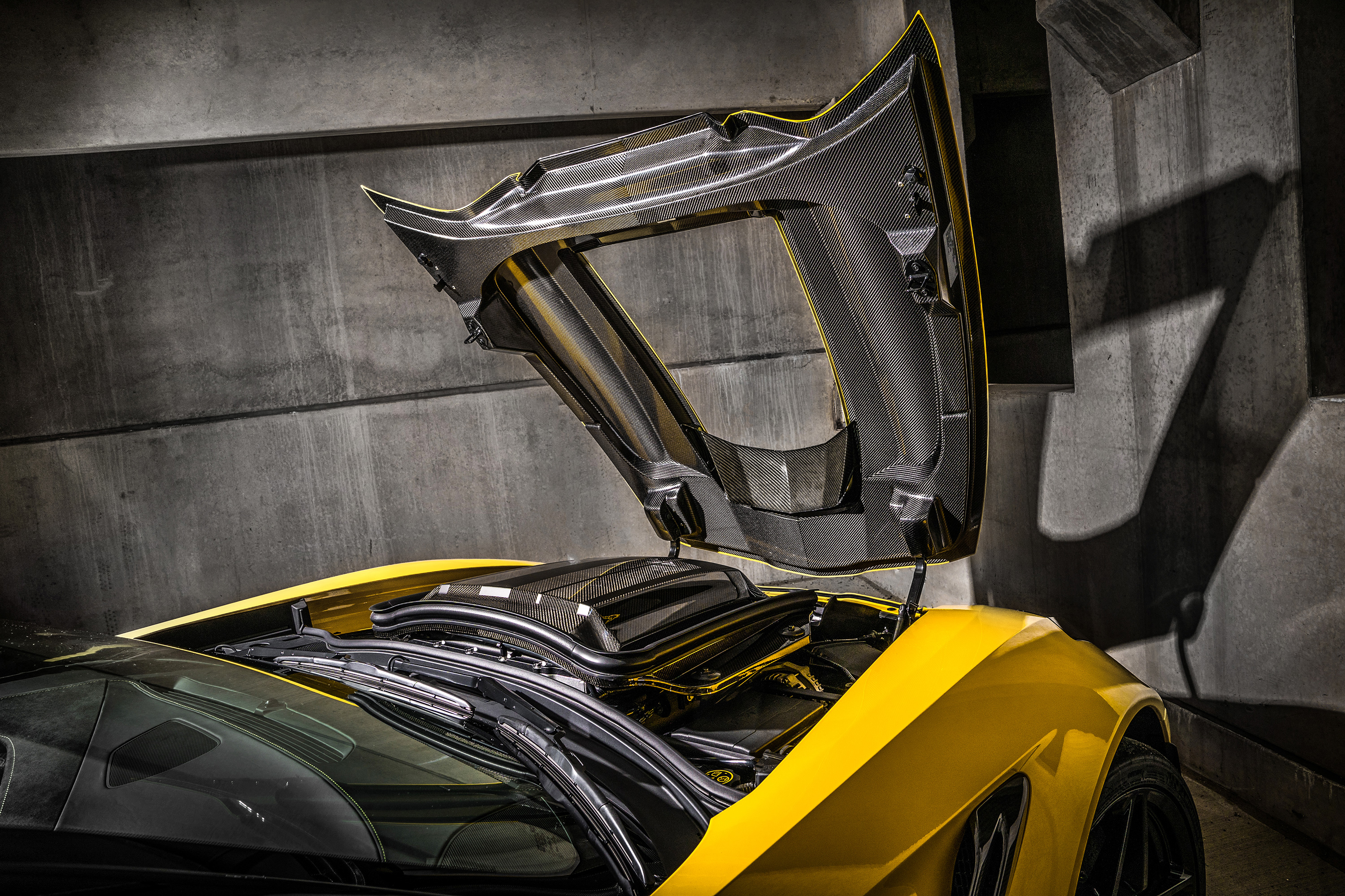 2019 chevy corvette ZR1 hood carbon fiber