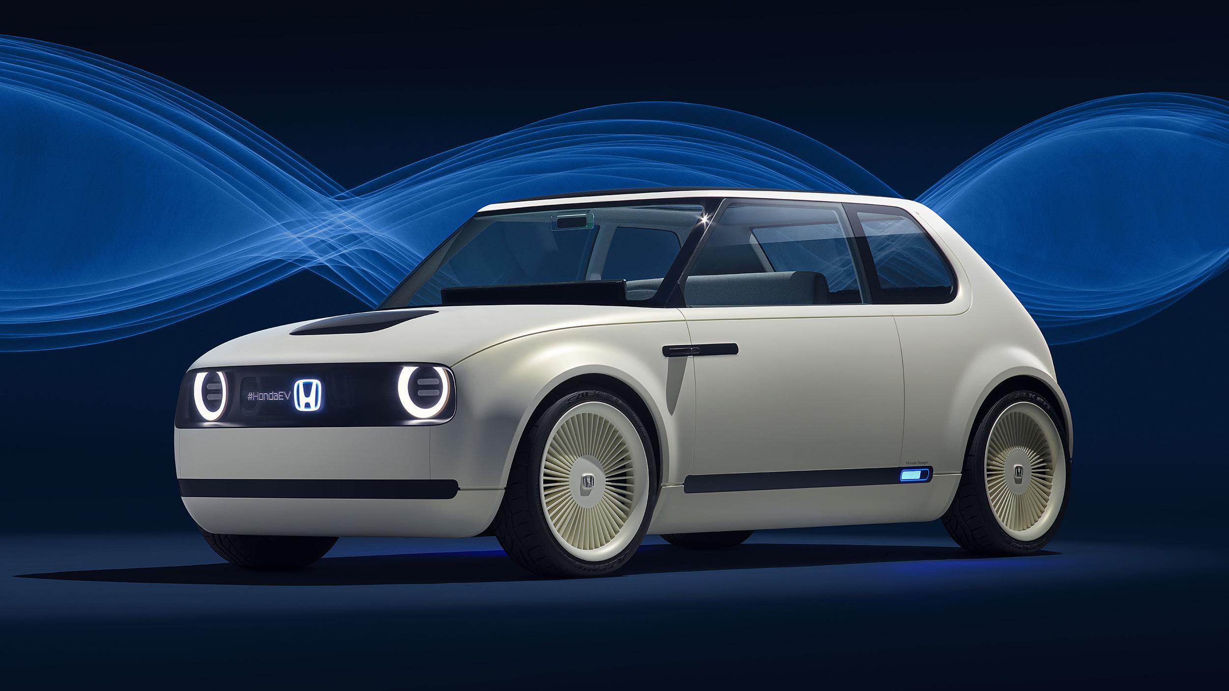 Honda Urban EV Concept front 3/4