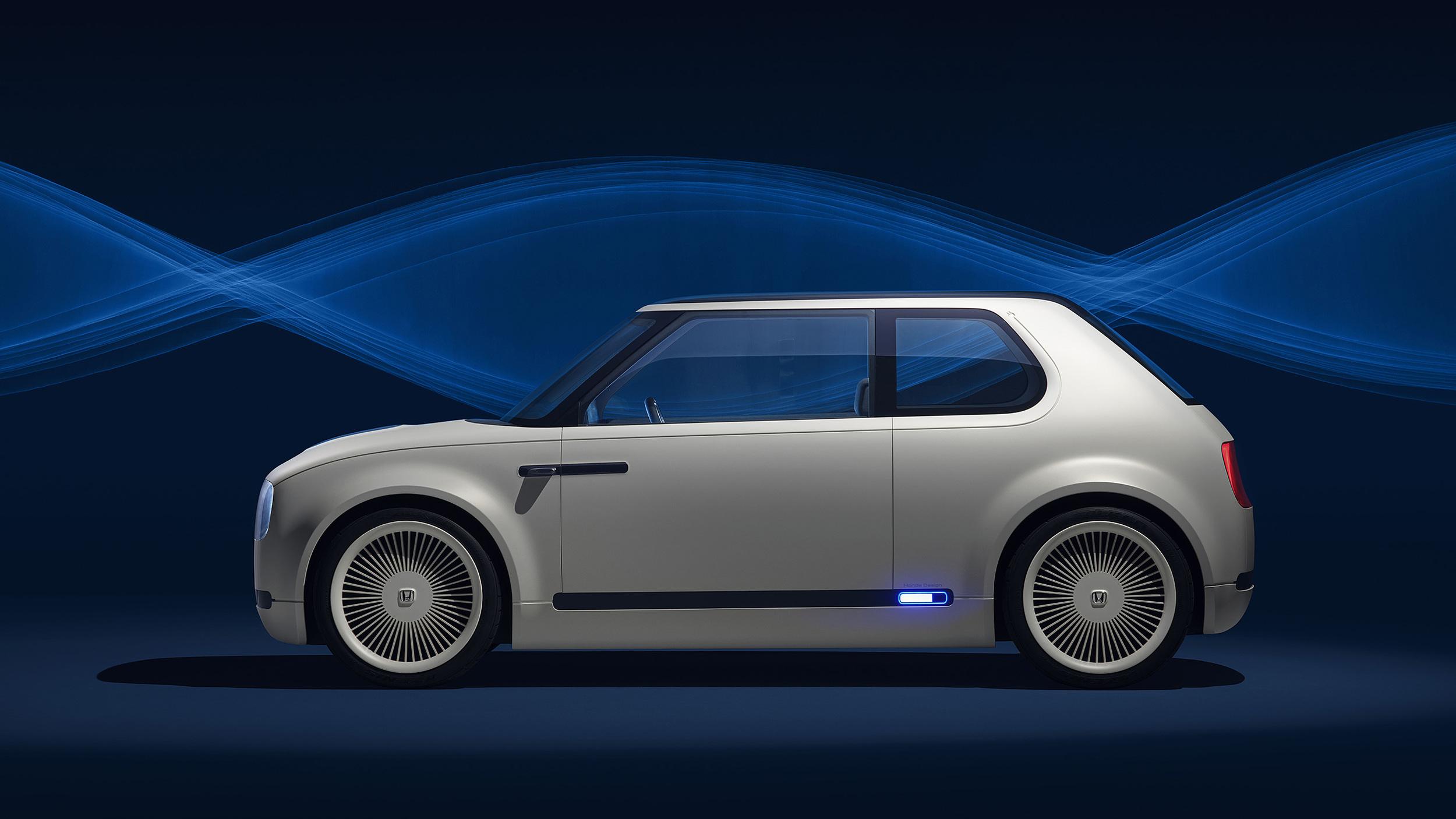 Honda Urban EV Concept profile
