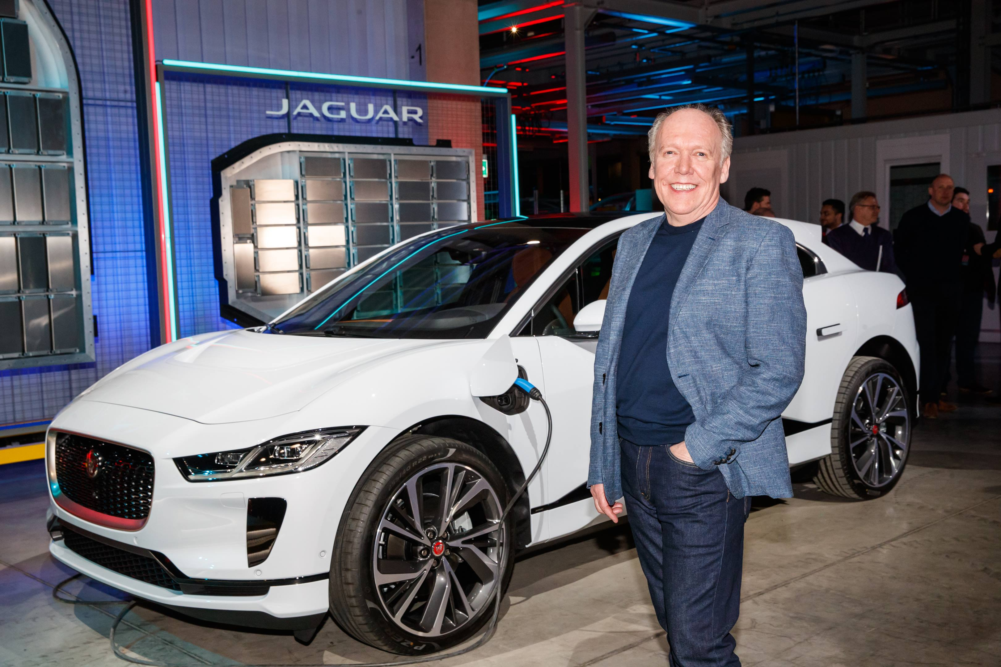 Ian Callum with the I-PACE Concept