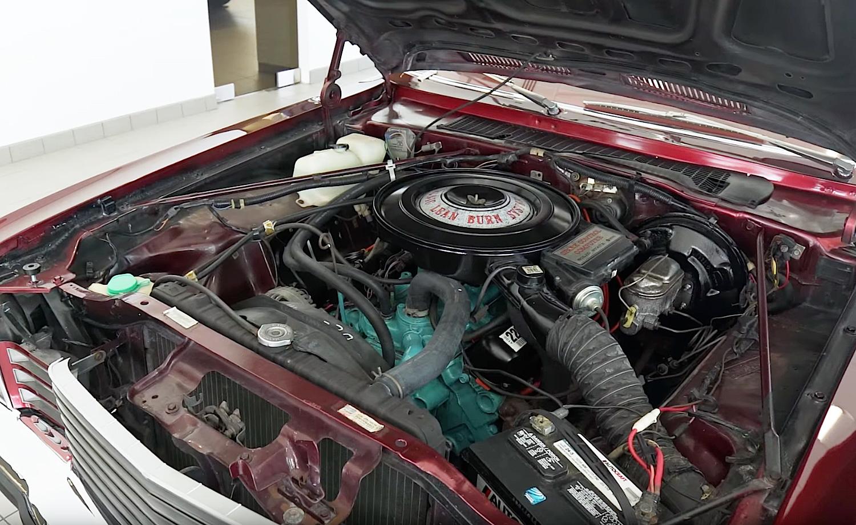 1978 Dodge Street Kit Car engine
