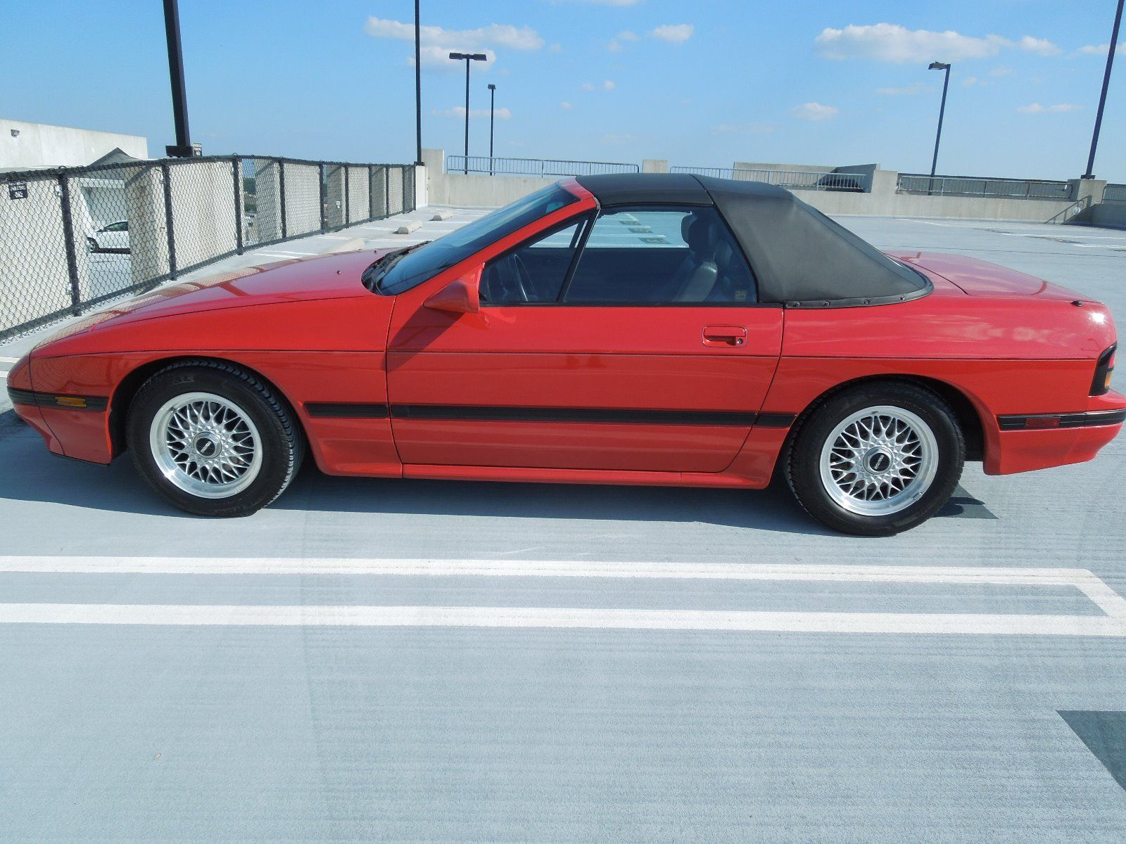 1988 Mazda RX-7 convertible profile