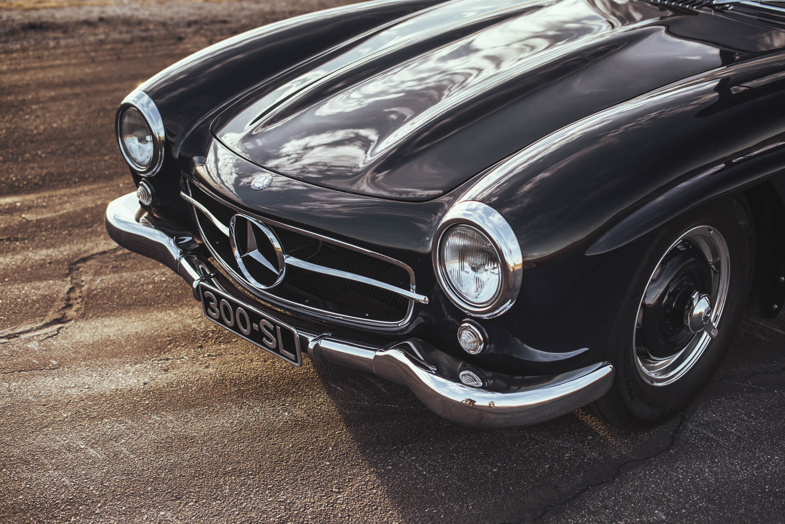 1955 Mercedes-Benz 300 SL Gullwing nose