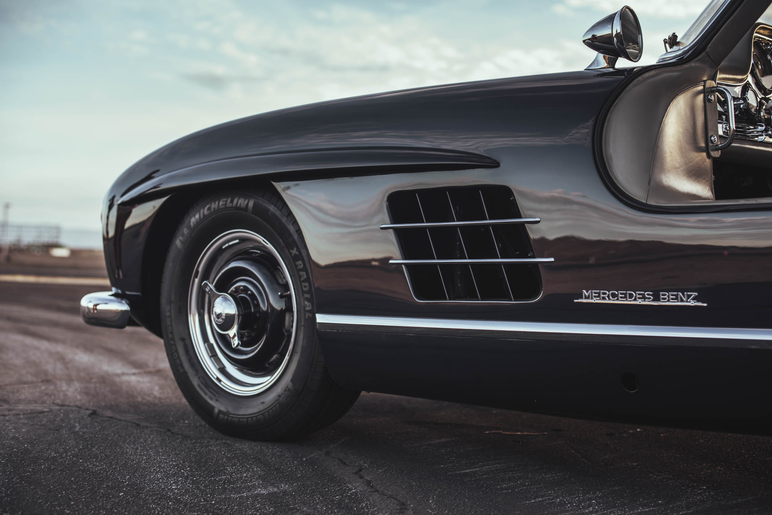 1955 Mercedes-Benz 300 SL Gullwing side vents