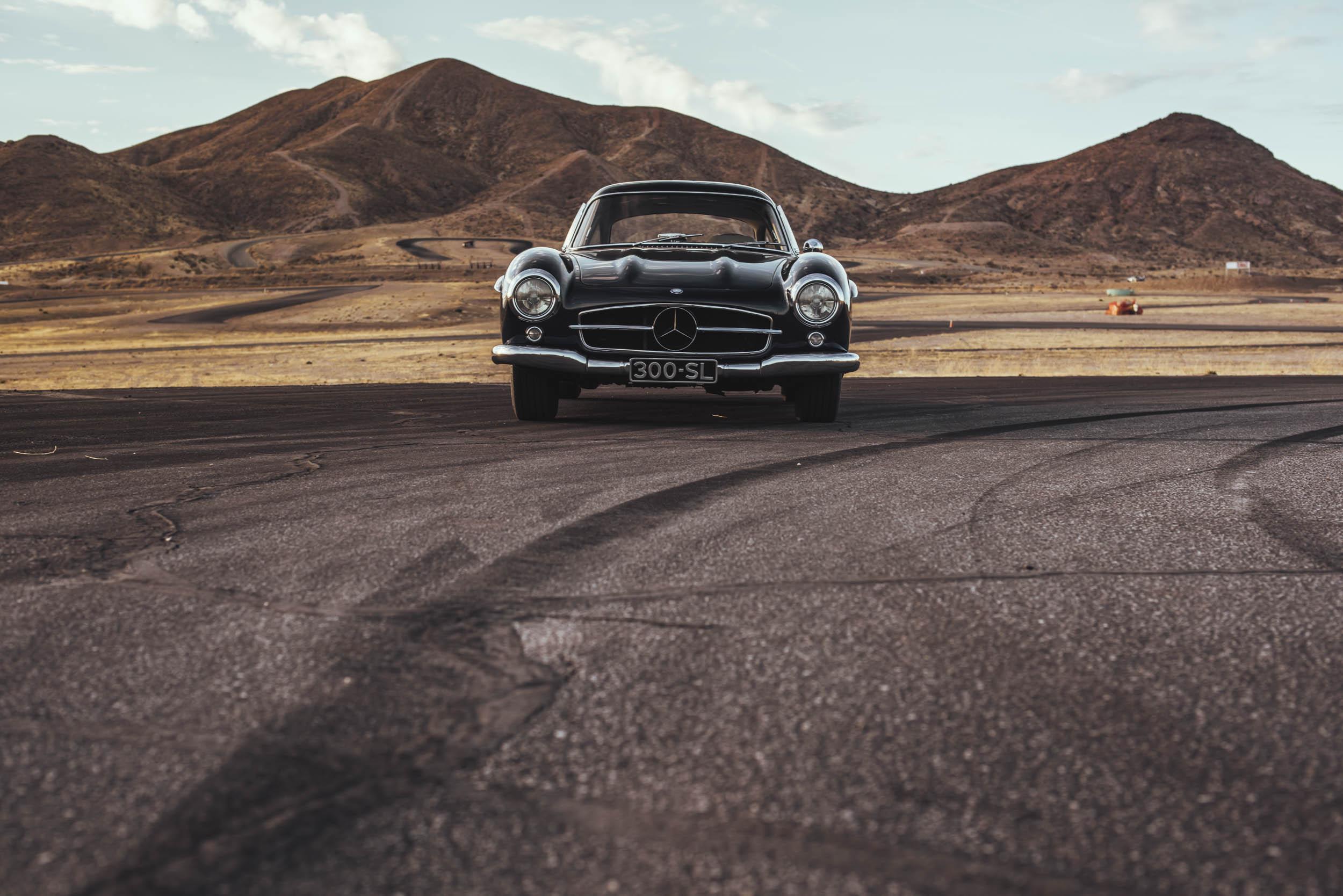 1955 Mercedes-Benz 300 SL Gullwing Sandon Voelker front view