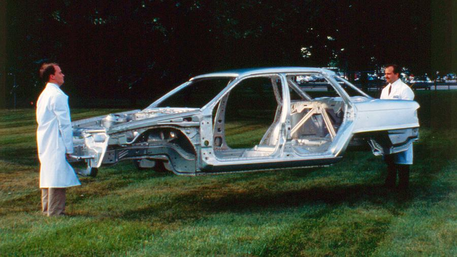 Mercury Sable Aluminum Intensive Vehicle frame