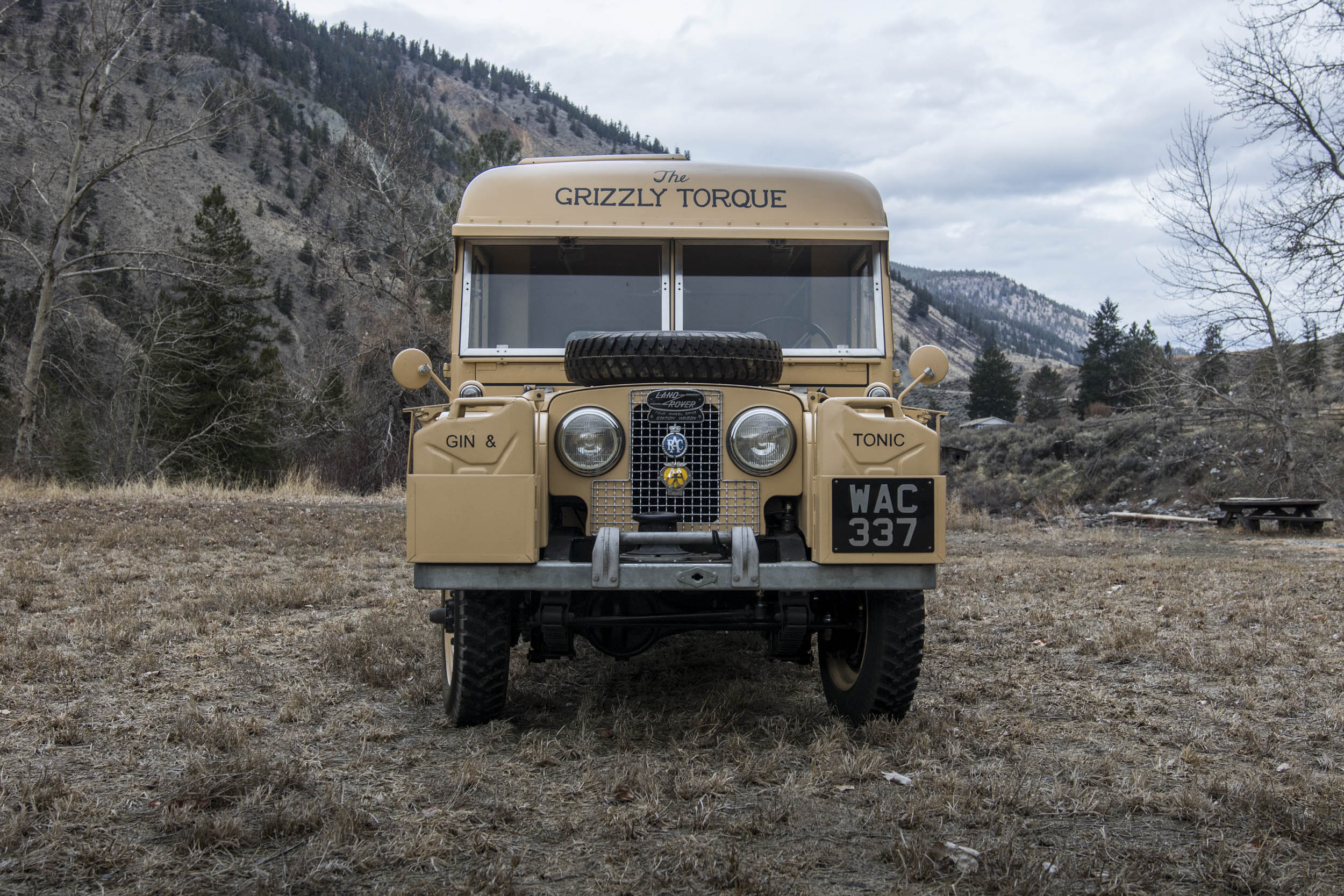 1957 Land Rover the Grizzly Torque front