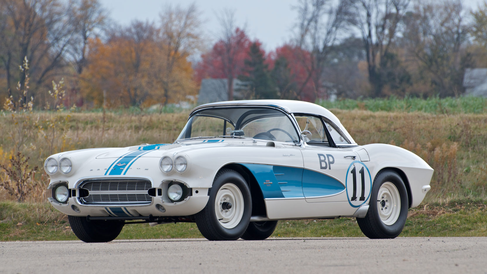 Gulf Oil-sponsored 1961 Corvette