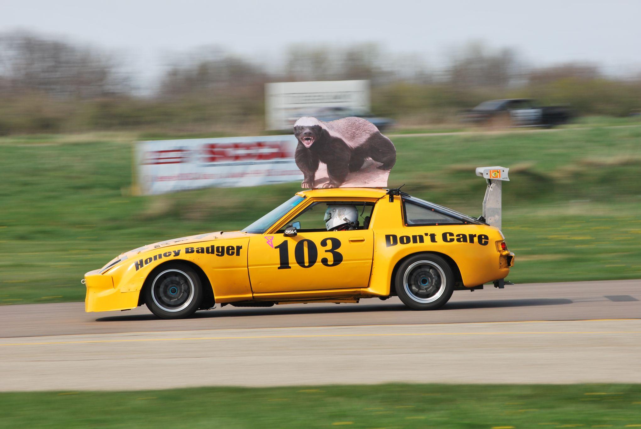Lemons Honey Badger car