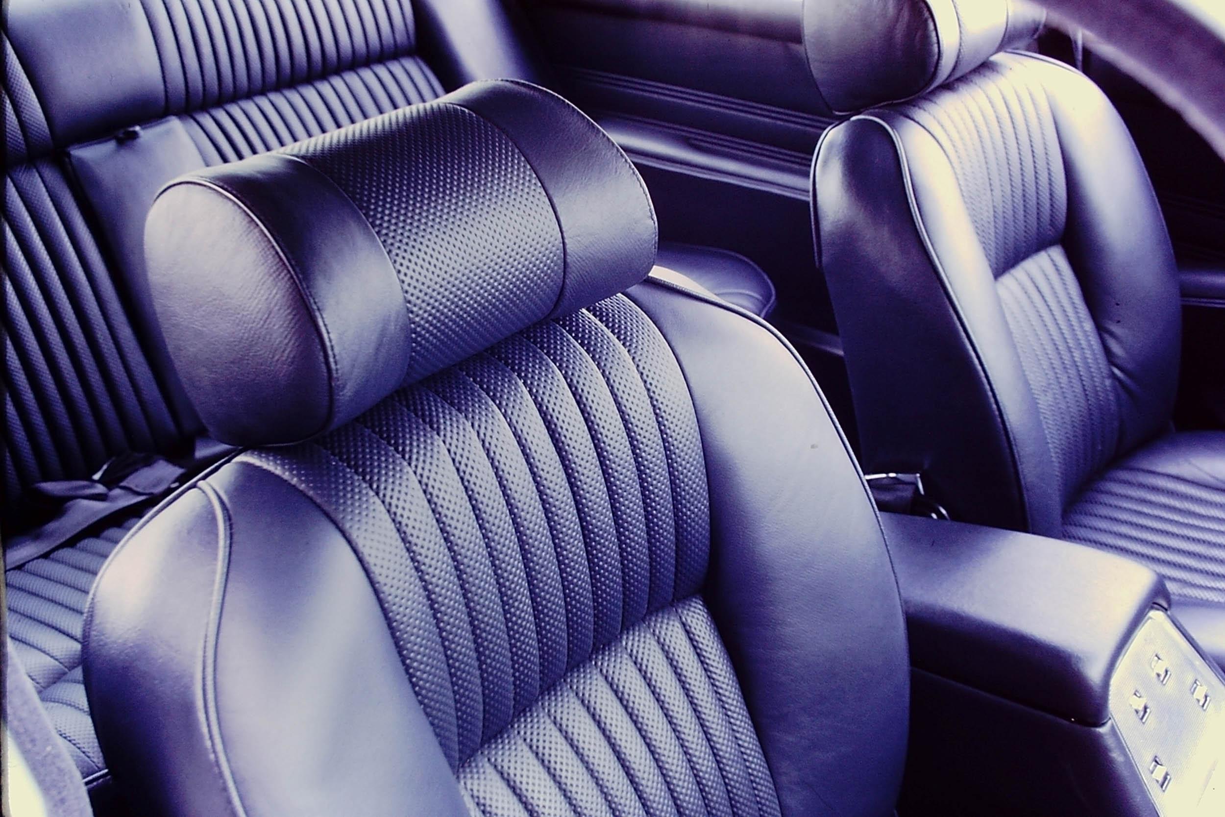 XJ Series I Seat Detail