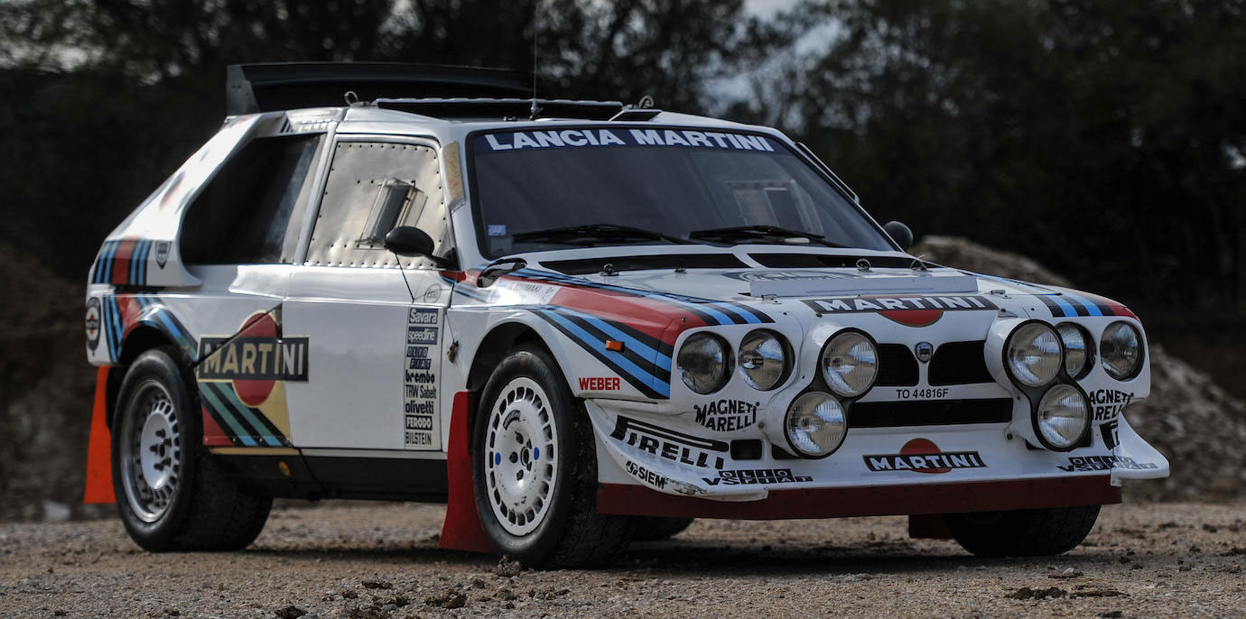 1986 Lancia Delta S4 Groupe B Rallye