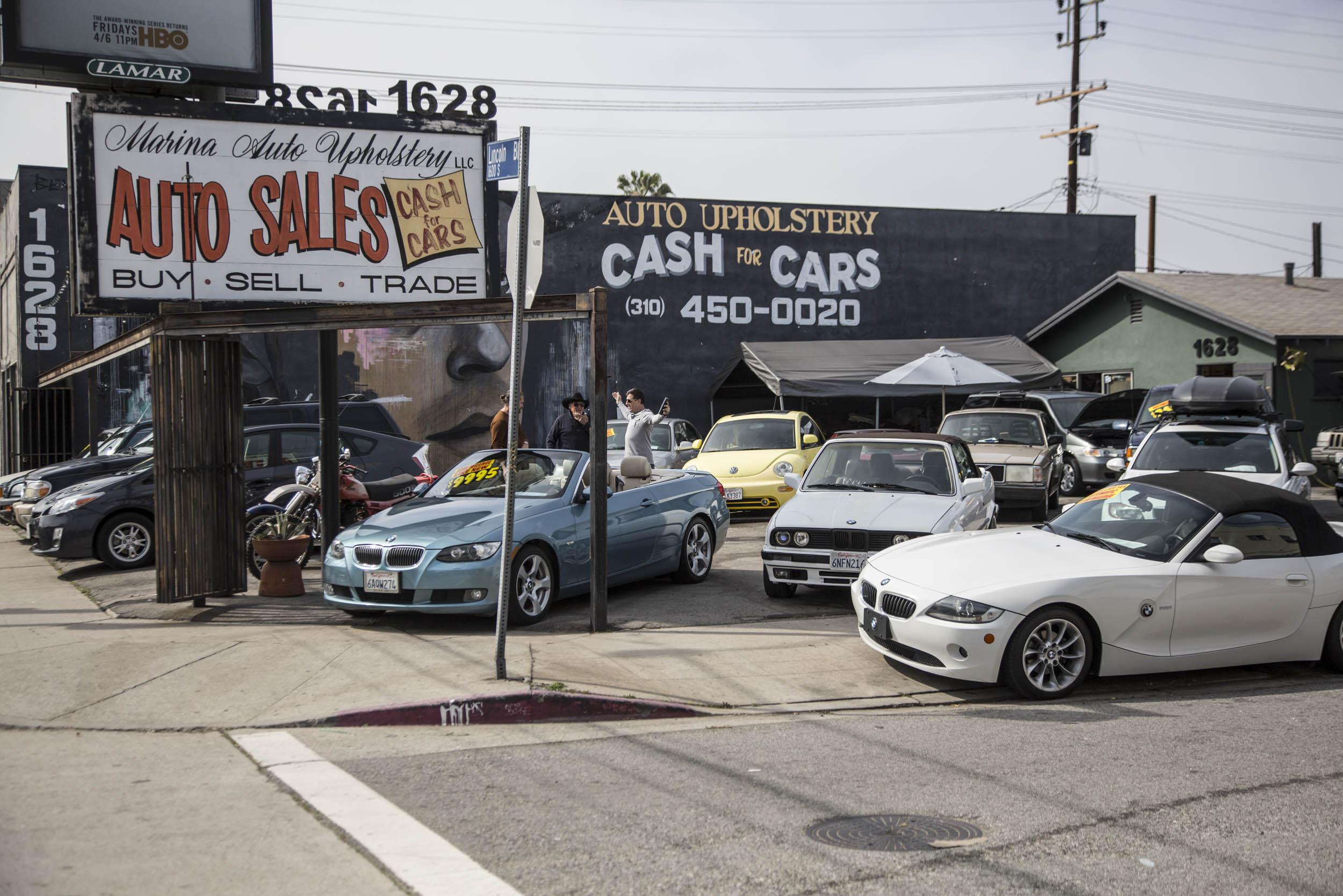 L.A.s Marina Auto Upholstery