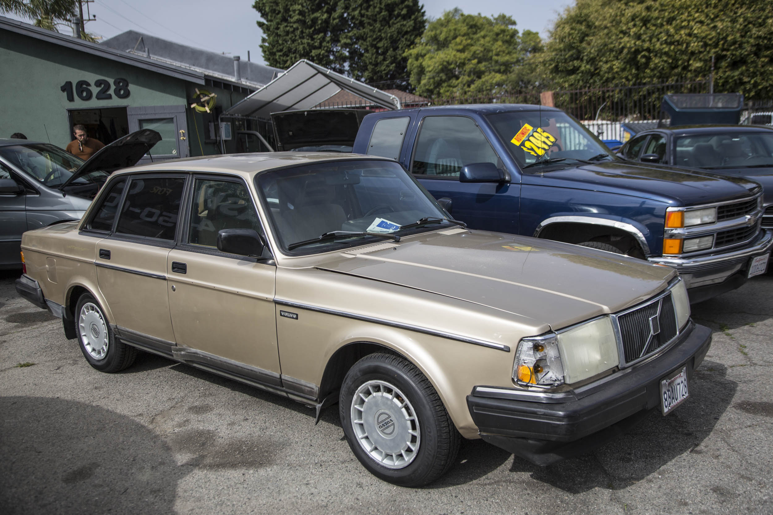Classic cars at Marina Auto Upholstery