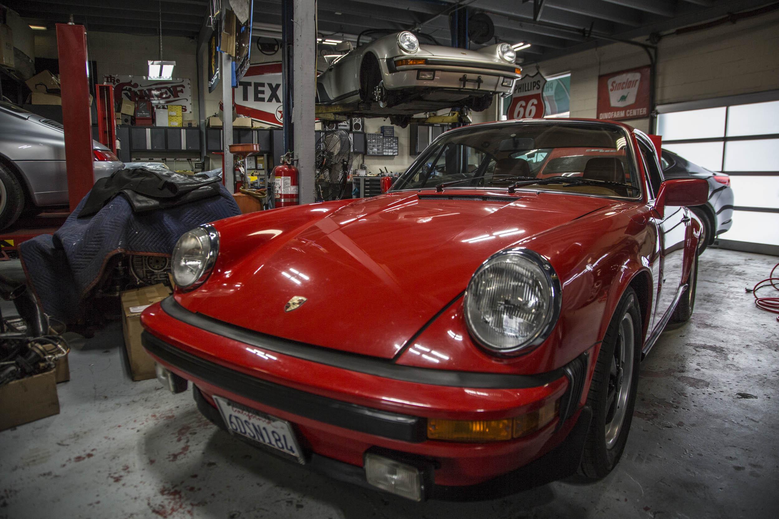 Chequered Flag Porsche