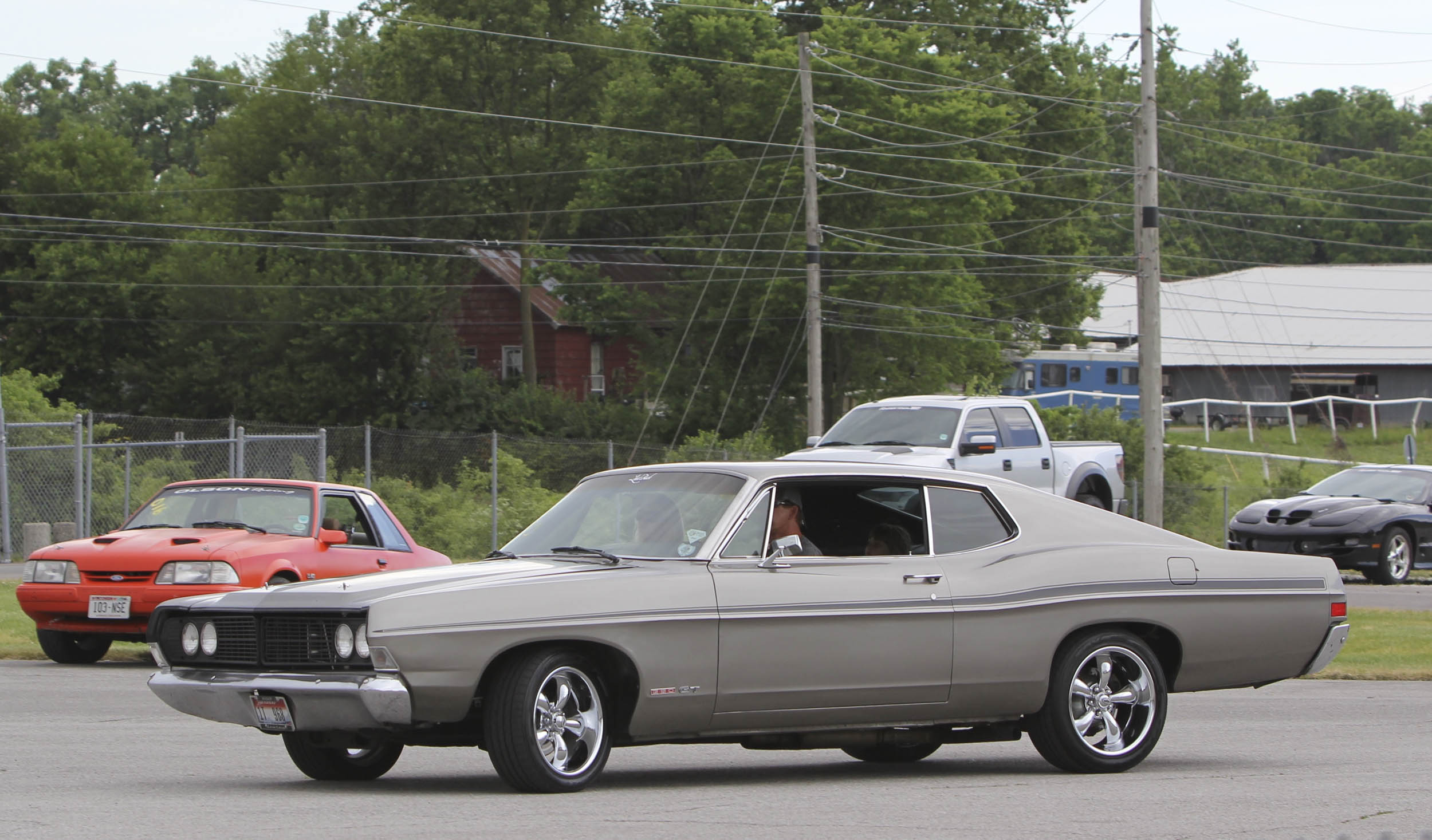 1968 Ford Sportsroof four speed