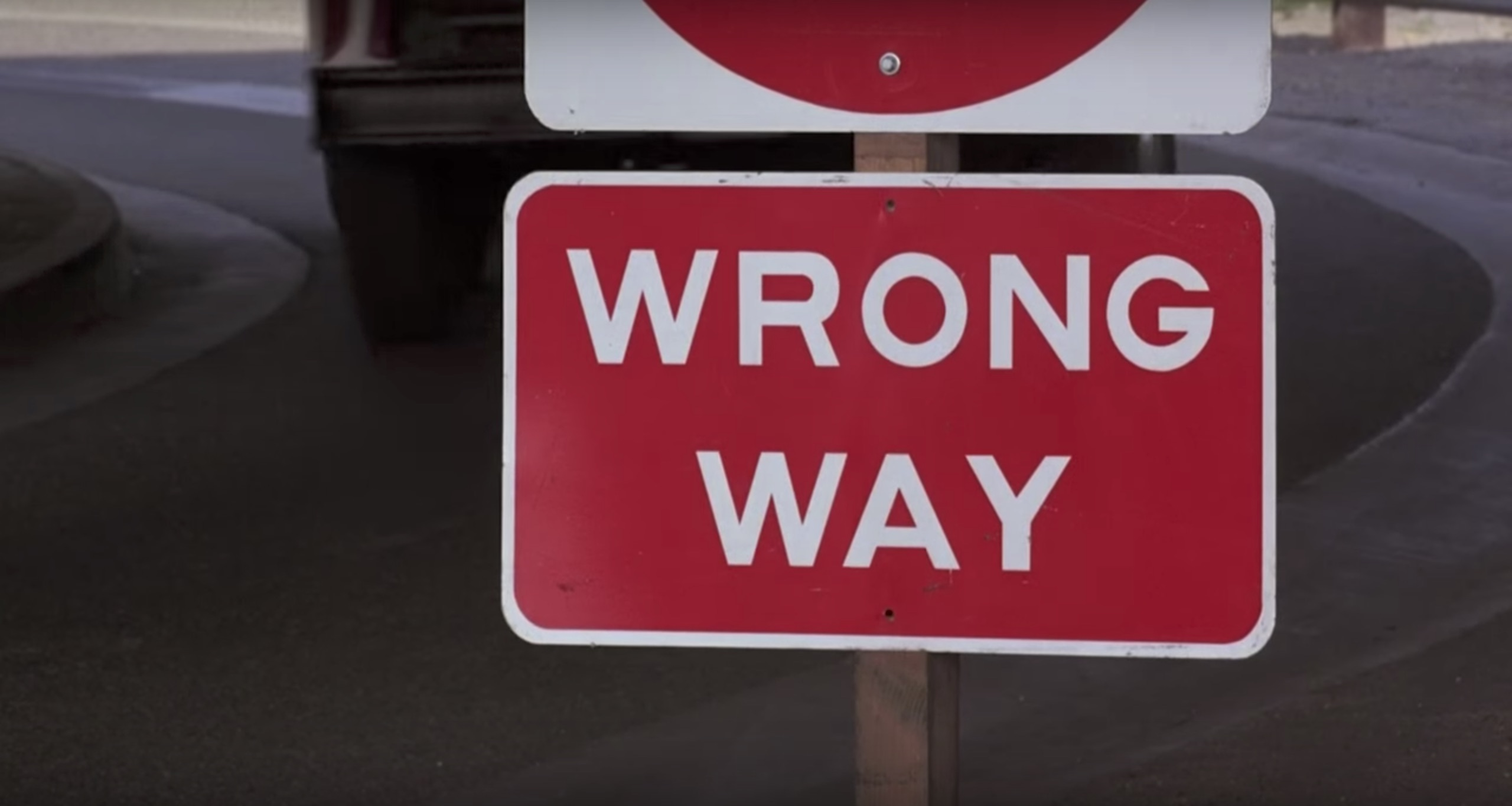 To Live and Die in L.A. wrong way