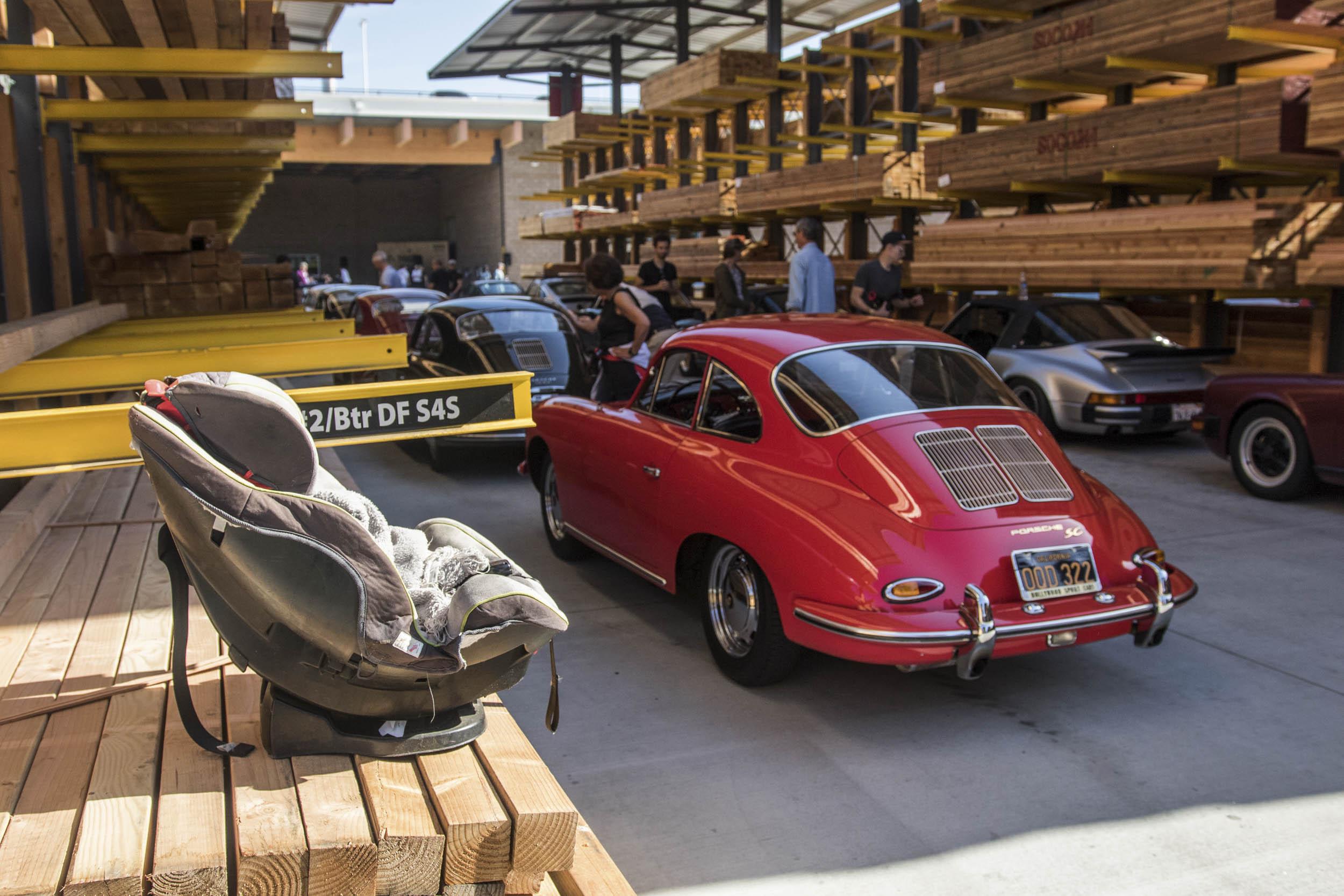 Porsche 911SC in the wood ille