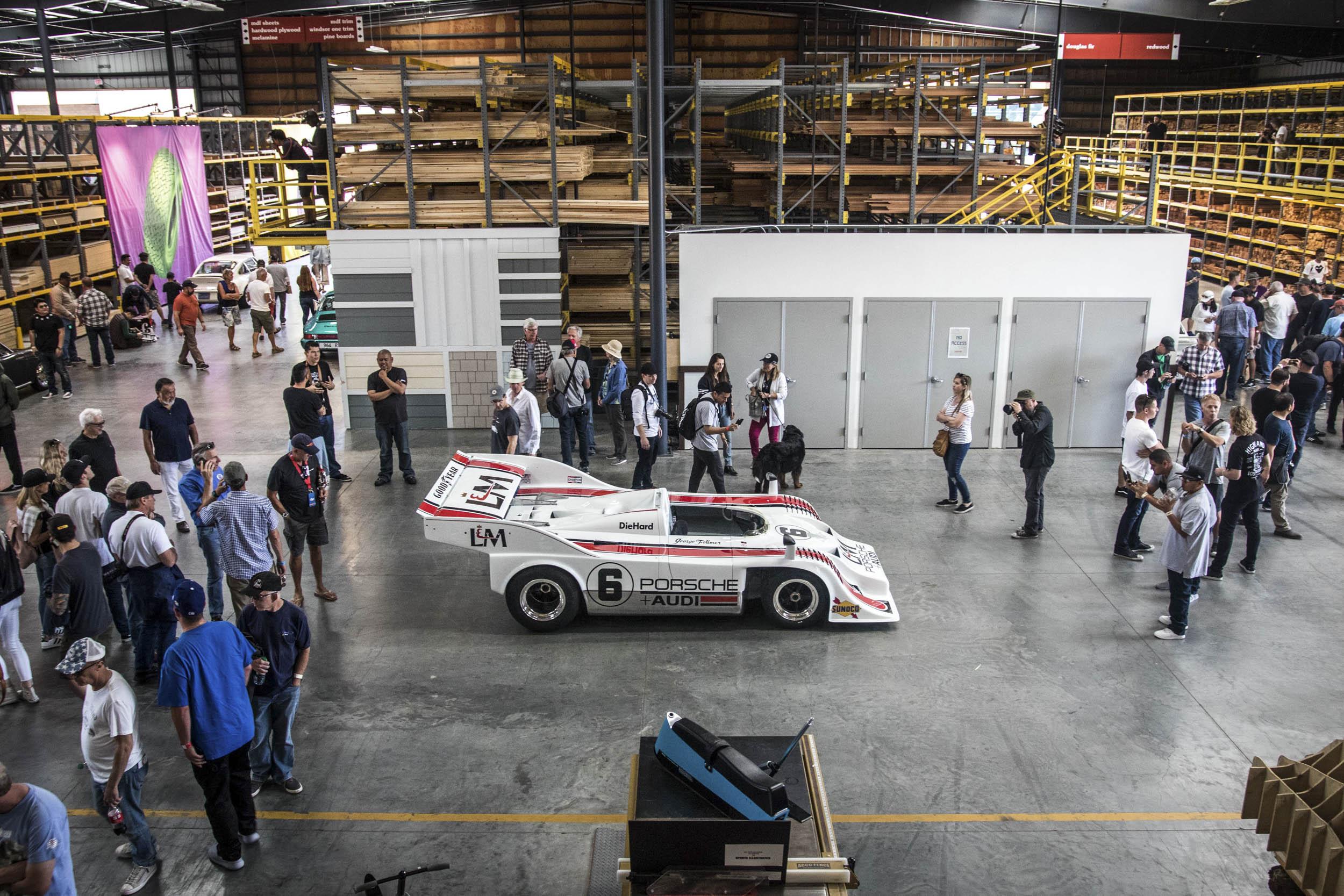 Porsche Audi race car Luftgekühlt