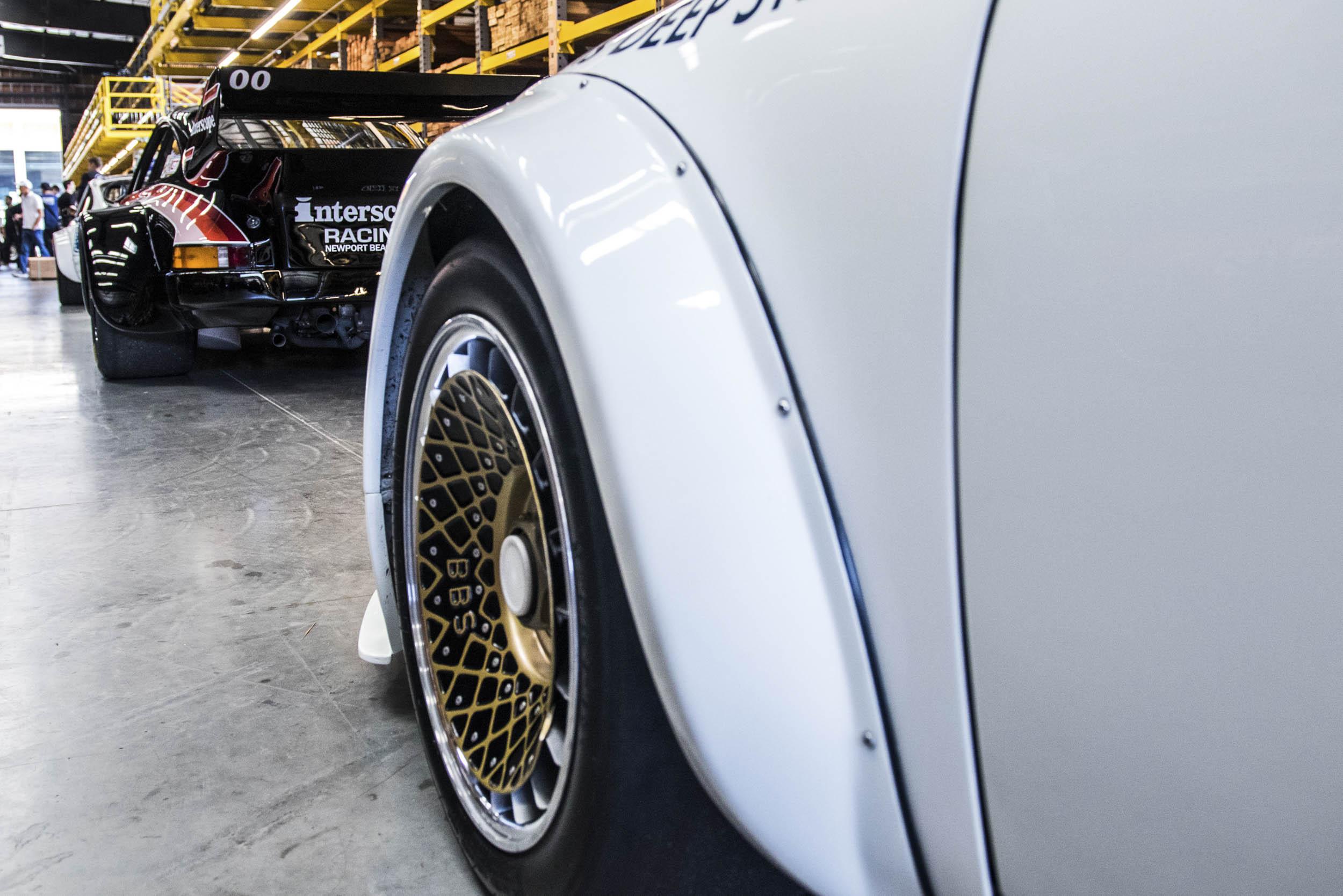 Porsche BBS rims at Luftgekühlt