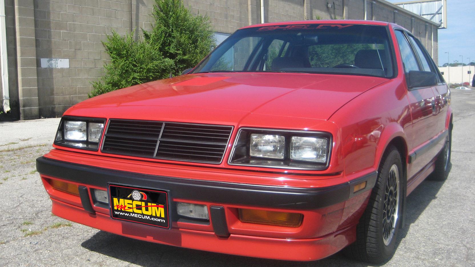 1987 Dodge Shelby Lancer