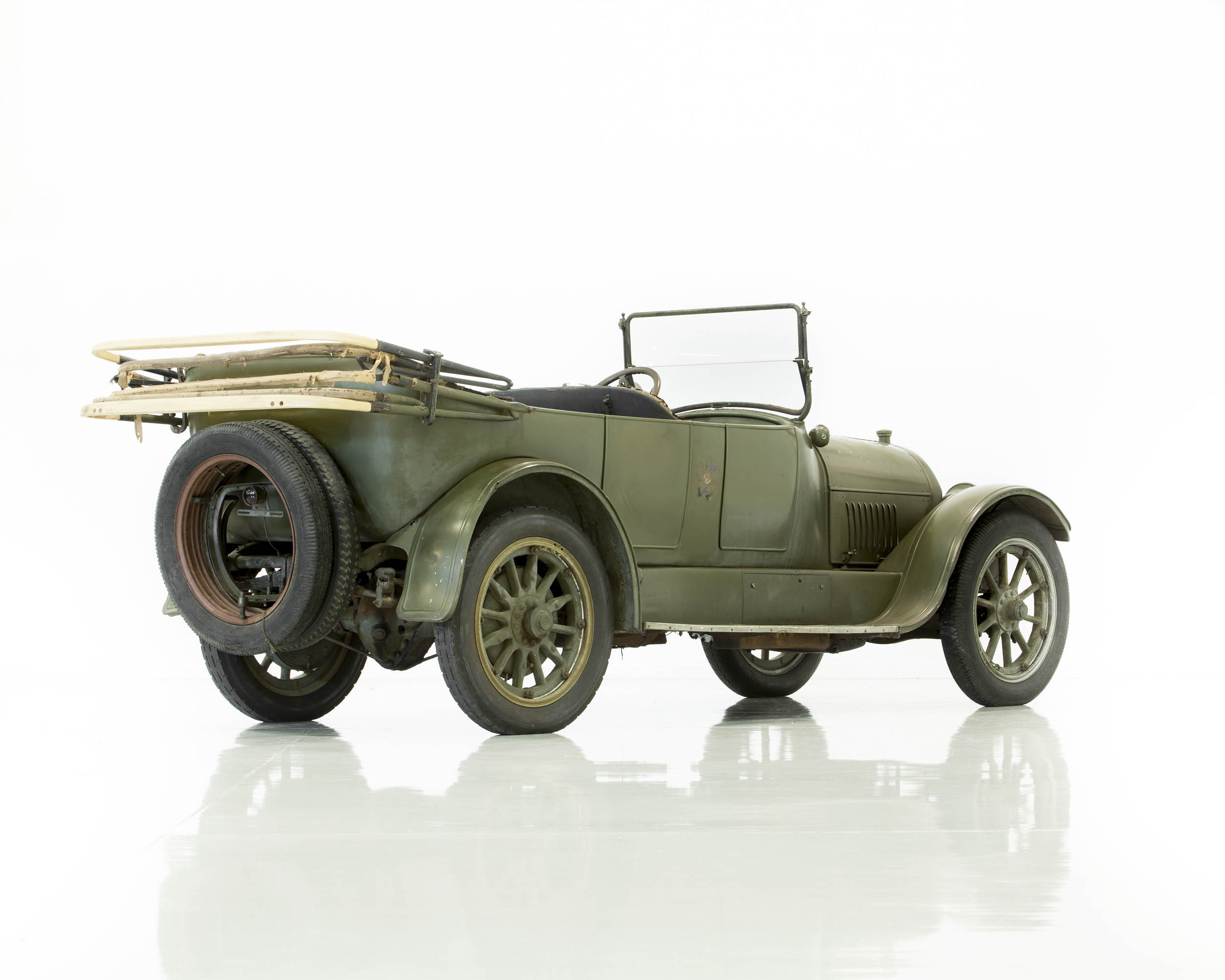 The Denison Cadillac remained in the Army Motor Service Pool until Dr. Dennison reclaimed it in 1920.