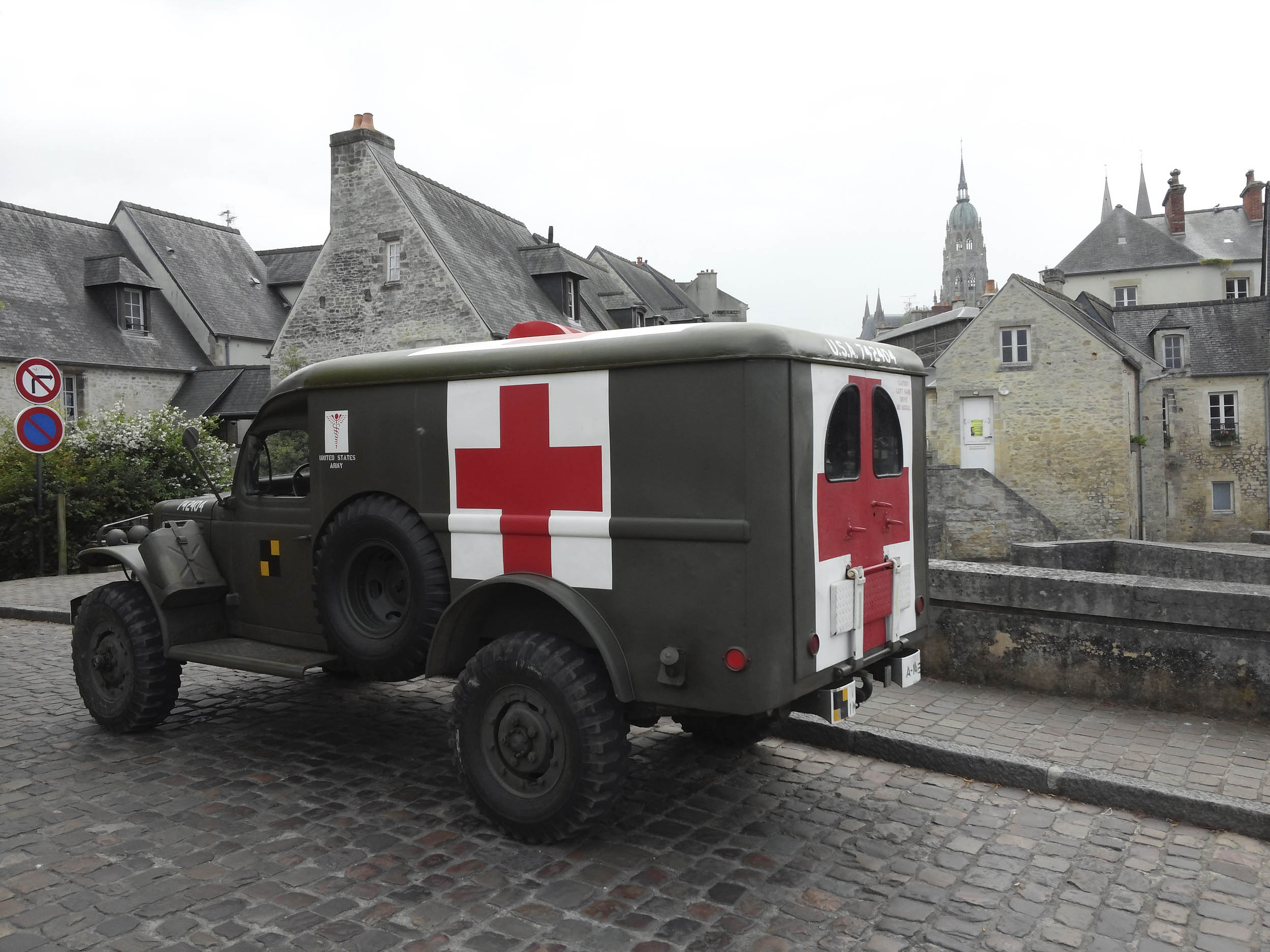1942 Dodge WC54 ambulance, WW2