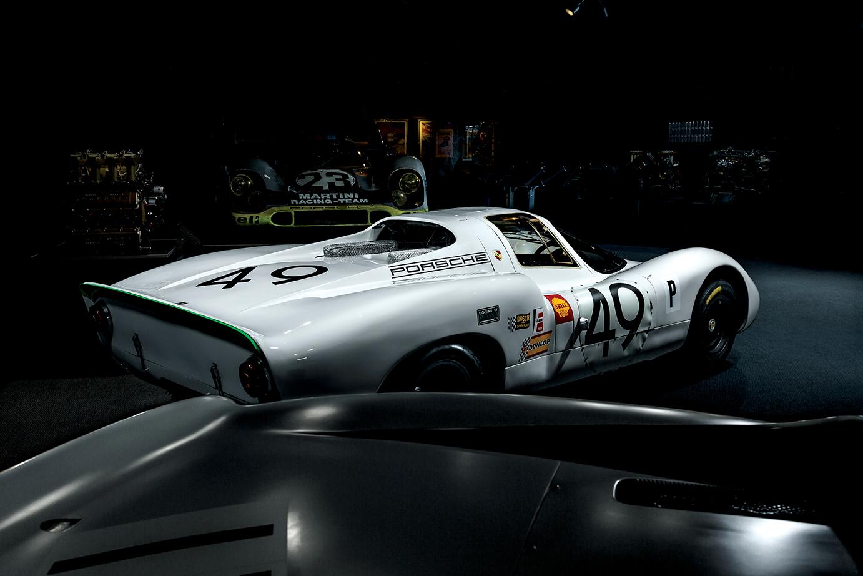 Porsche rear 3/4