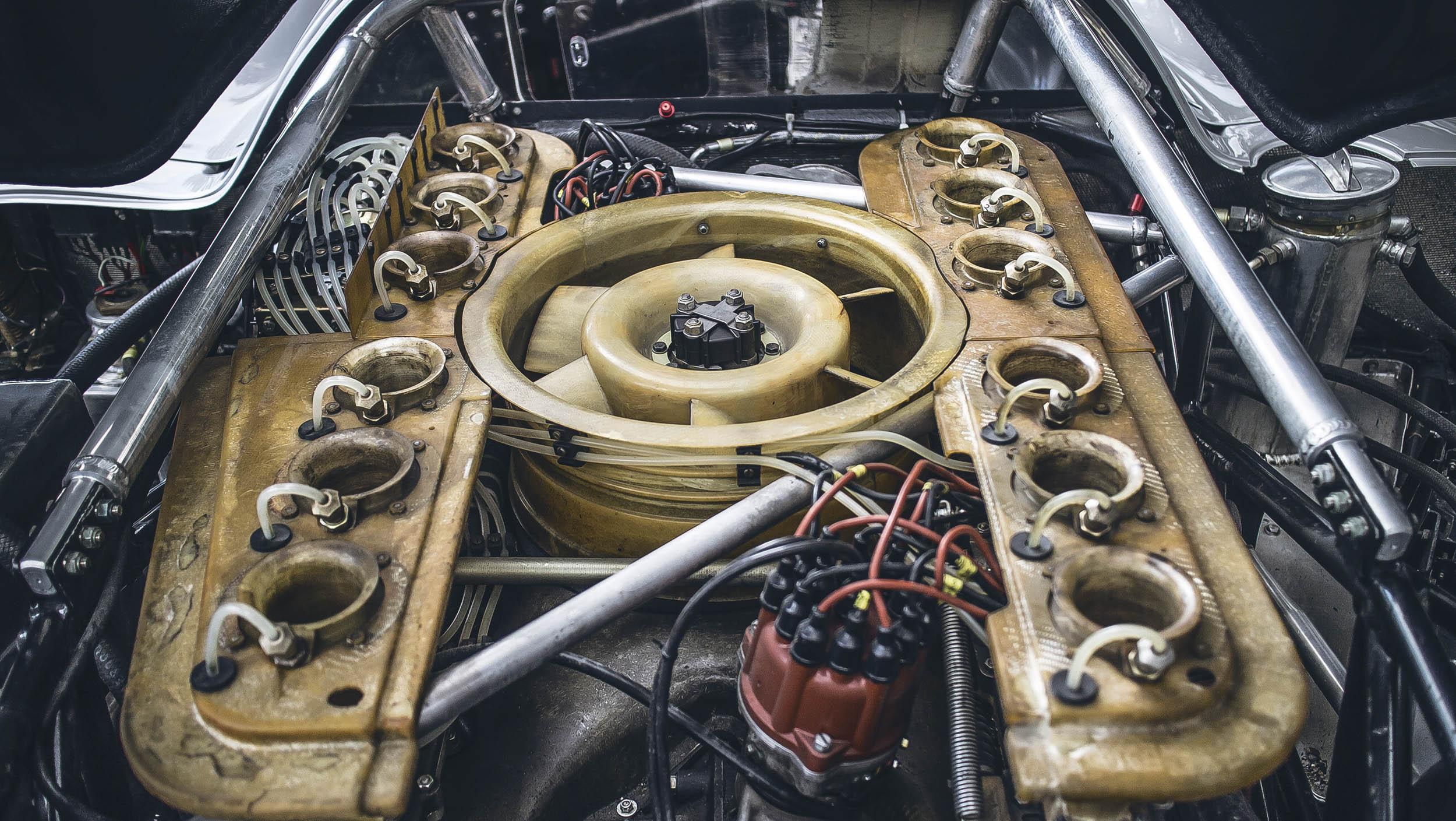 Porsche 917K engine