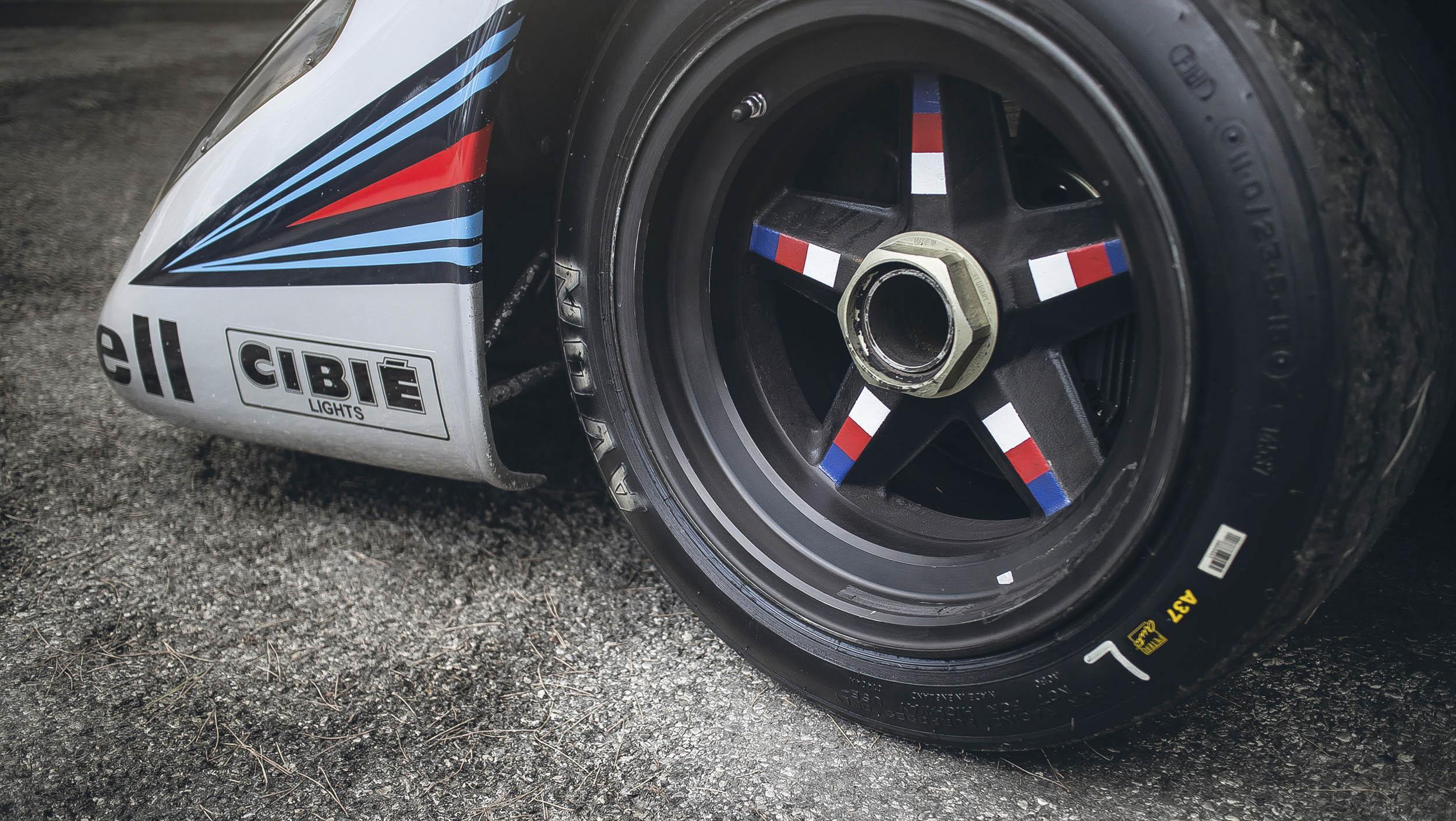 Porsche 917K wheel detail