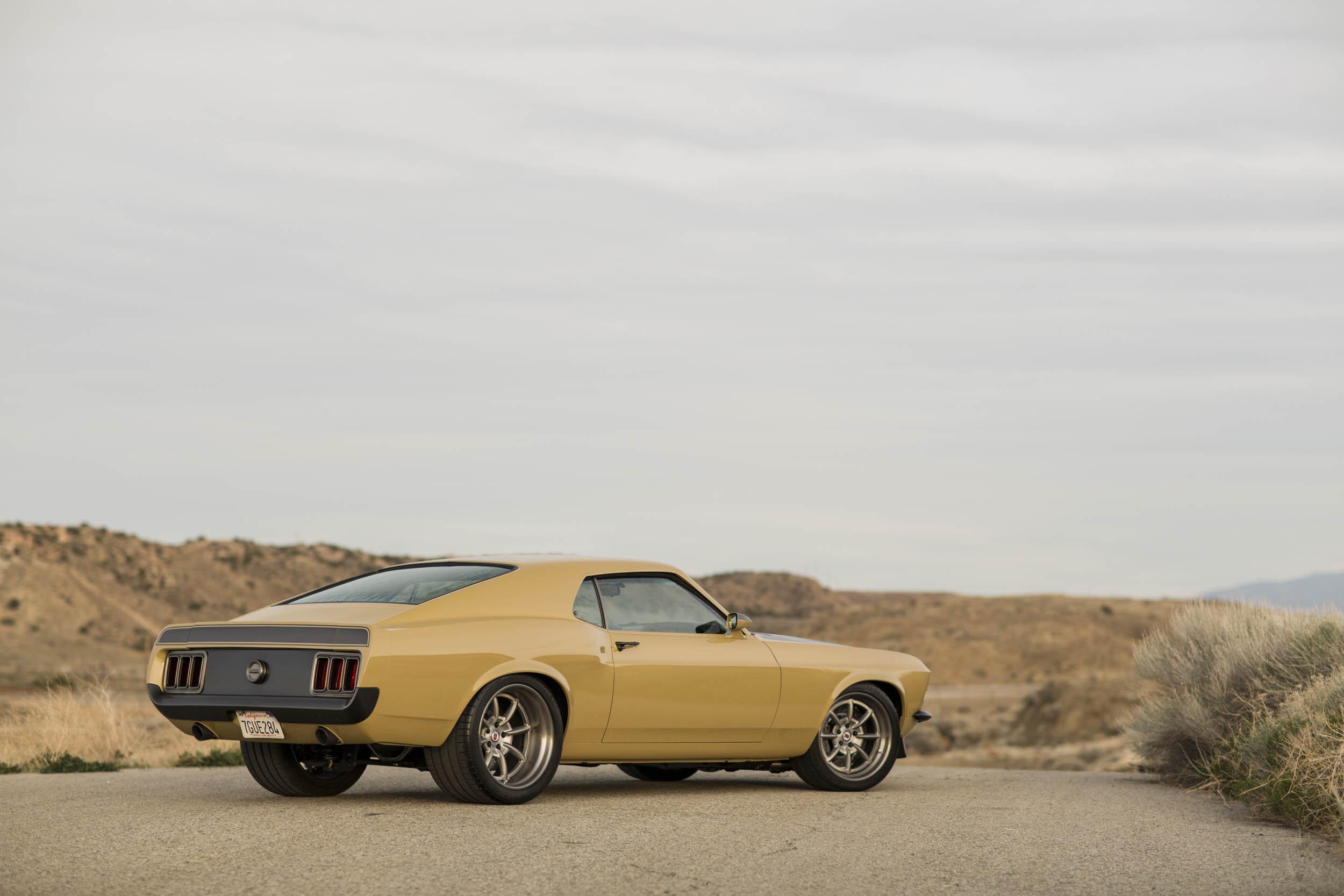 Robert Downey Jr.'s Speedkore 1970 Mustang rear 3/4
