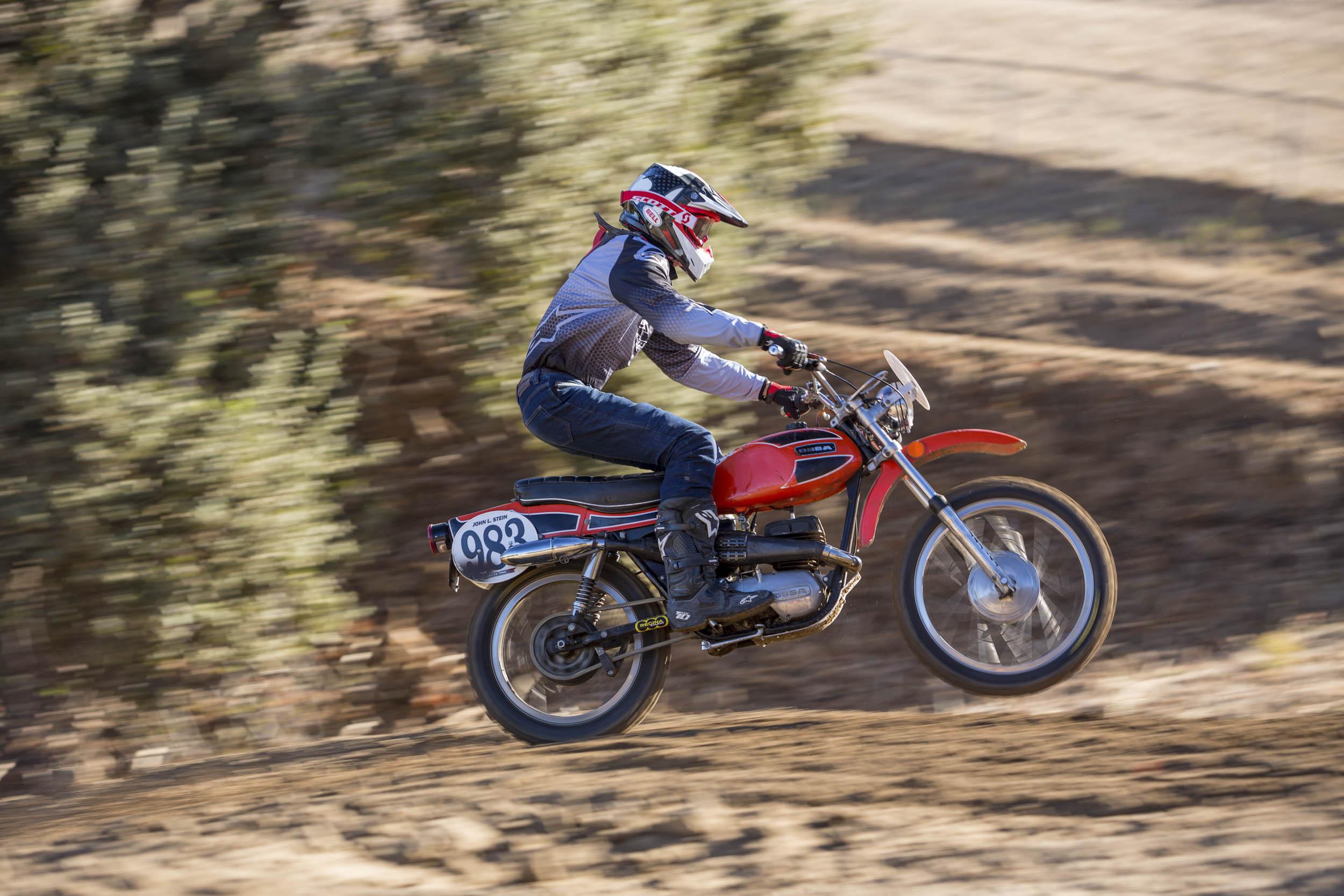 1971 Ossa Pioneer 250 Enduro motocross racing