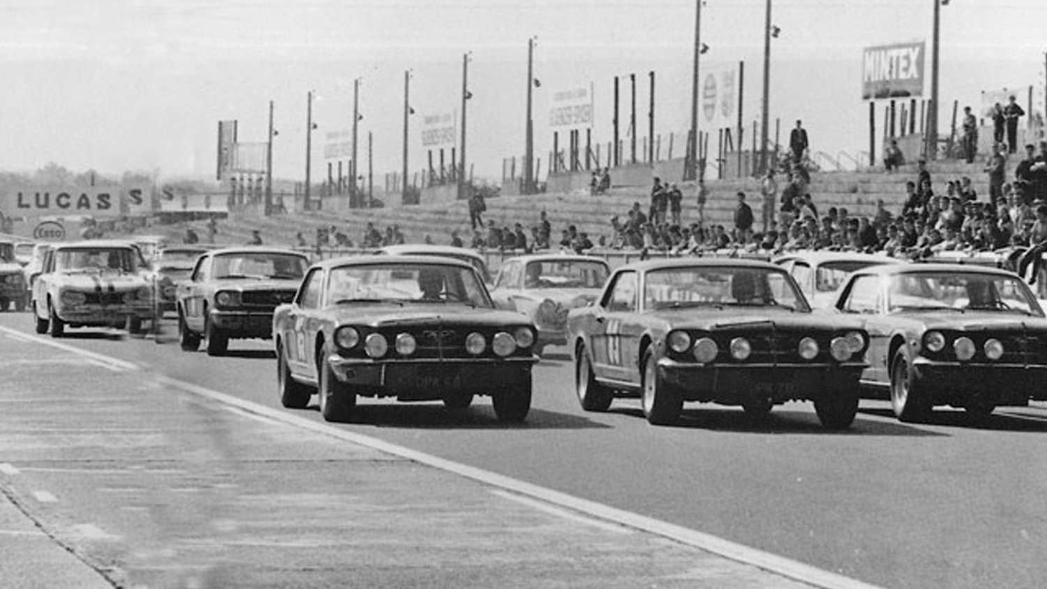 The Mustangs were larger and more powerful than their competitors in the Touring class. They also proved unbeatable.