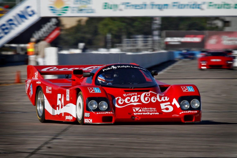 1984 Porsche 962 962-102 on the track