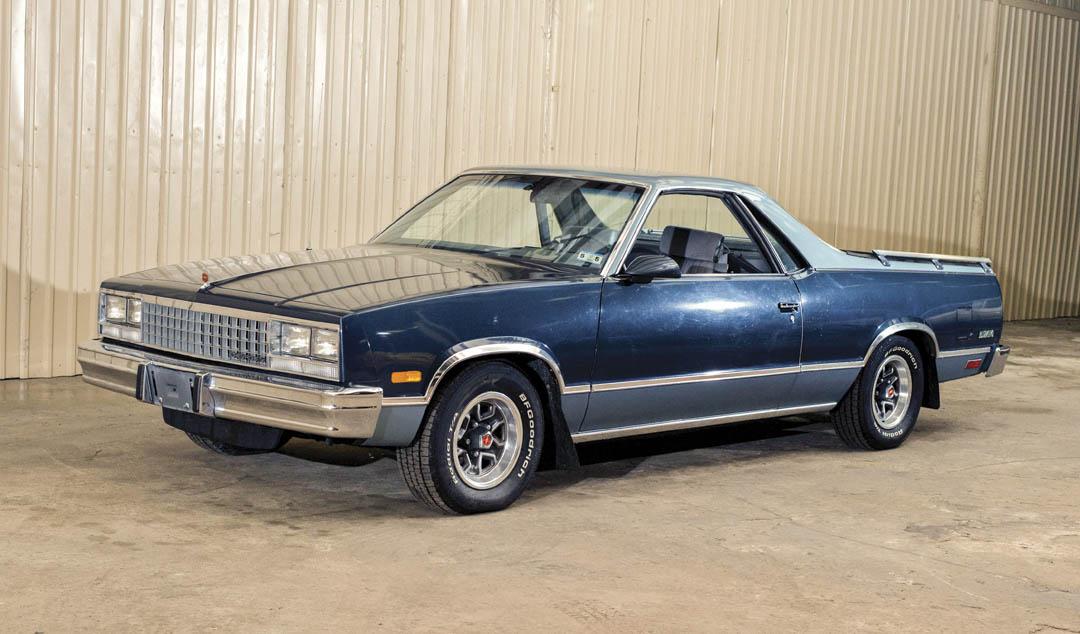 1987 Chevrolet El Camino Conquista front 3/4