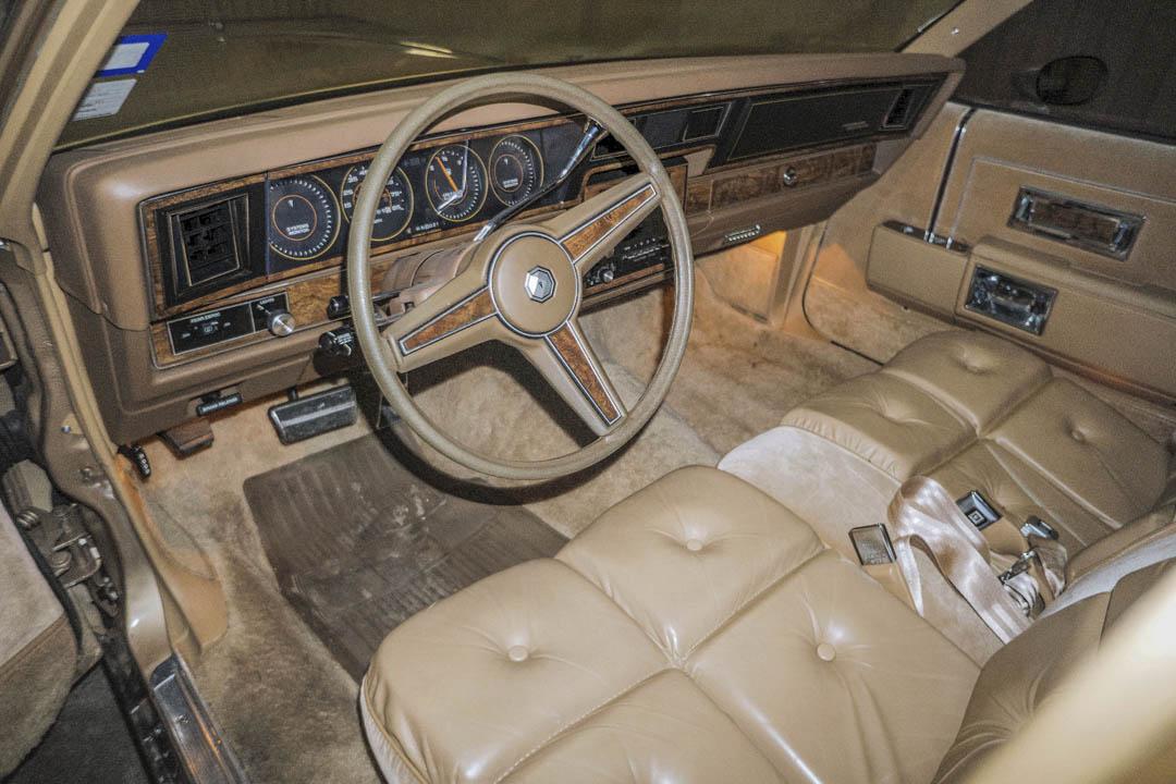 1985 Pontiac Parisienne Brougham interior
